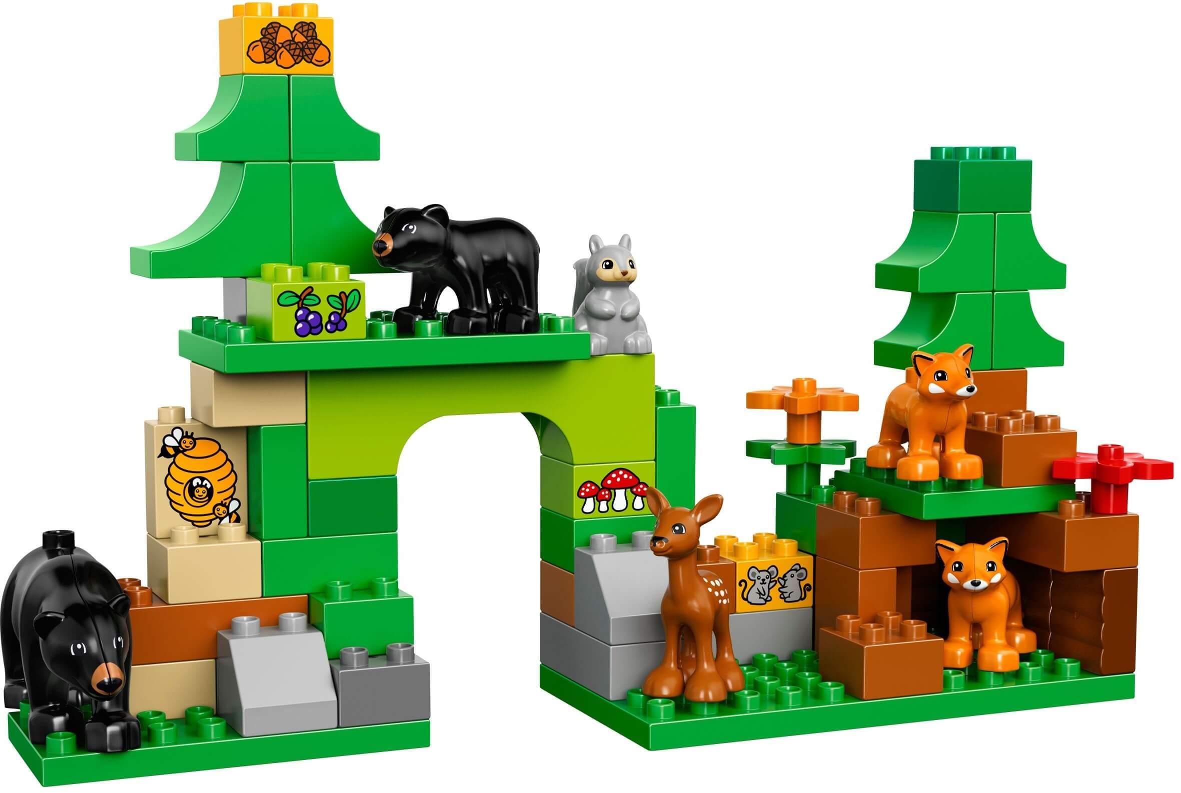 Mua đồ chơi LEGO 10584 - LEGO DUPLO 10584 - Khu rừng sở thú của Bé (LEGO DUPLO Forest: Park 10584)