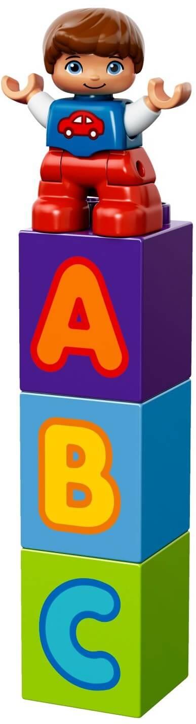 Mua đồ chơi LEGO 10603 - LEGO DUPLO 10603 - Bộ Xe Buýt học chữ của Bé (LEGO DUPLO My First Bus 10603)