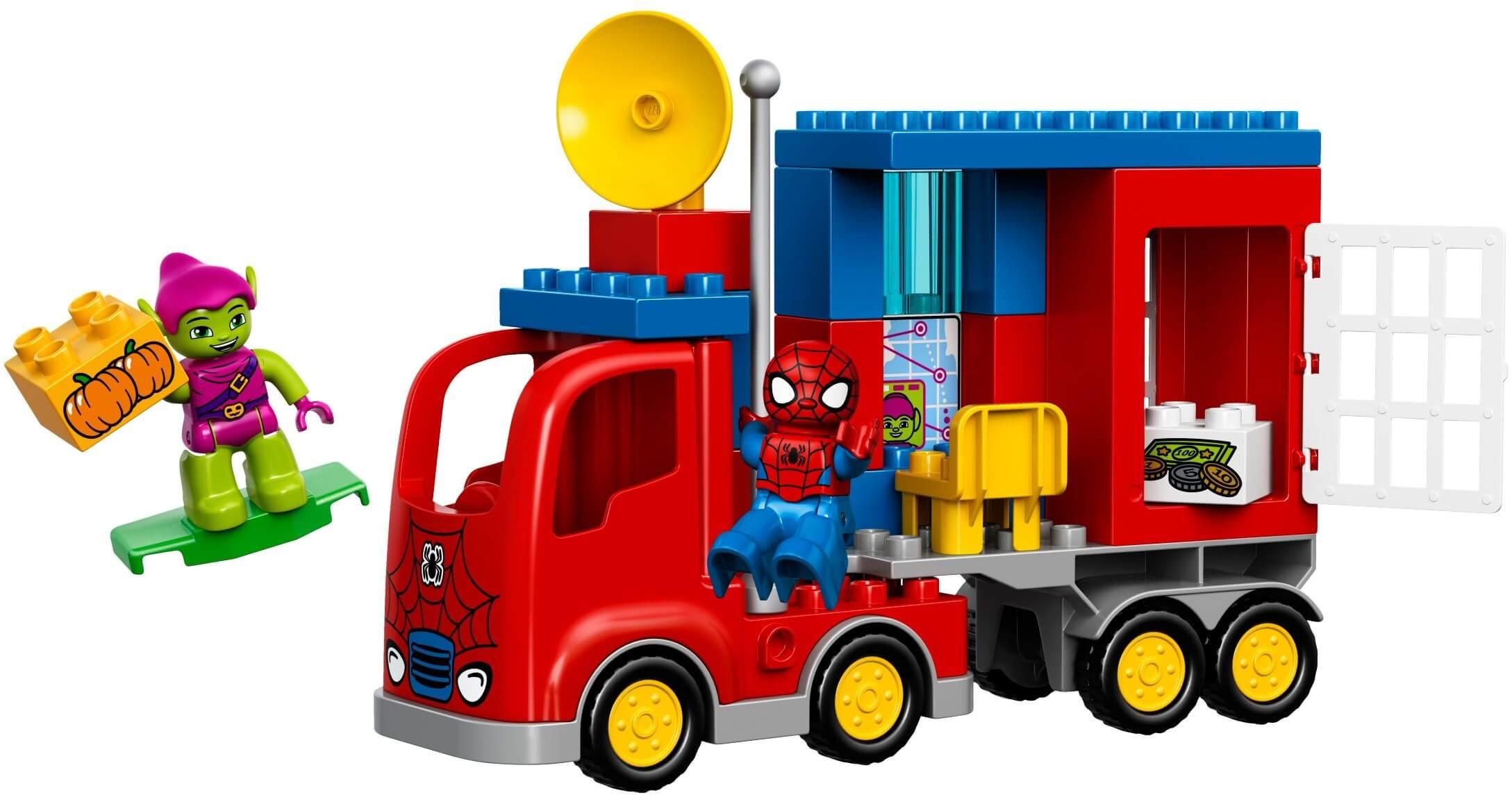 Mua đồ chơi LEGO 10608 - LEGO DUPLO 10608 - Xe Tải Spider Truck của Người Nhện (LEGO DUPLO Spider-Man Spider Truck Adventure 10608)