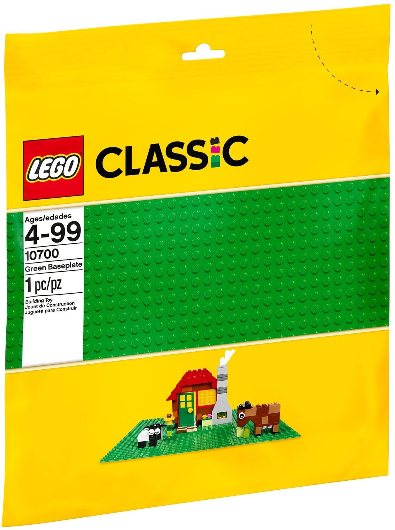 Mua đồ chơi LEGO 10700 - LEGO Classic 10700 - Tấm nền Xanh 32 x 32 LEGO Classic (LEGO Classic Green Baseplate 10700)