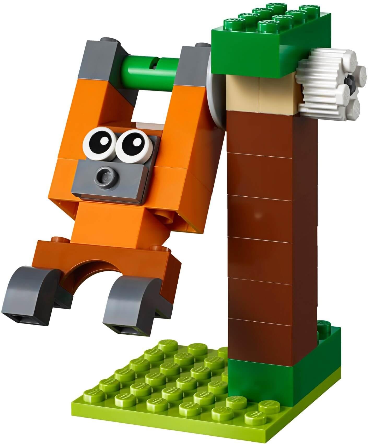 Mua đồ chơi LEGO 10712 - LEGO Classic 10712 - Bộ Xếp hình Xoay 244 mảnh ghép (LEGO Classic 10712 Bricks and Gears)