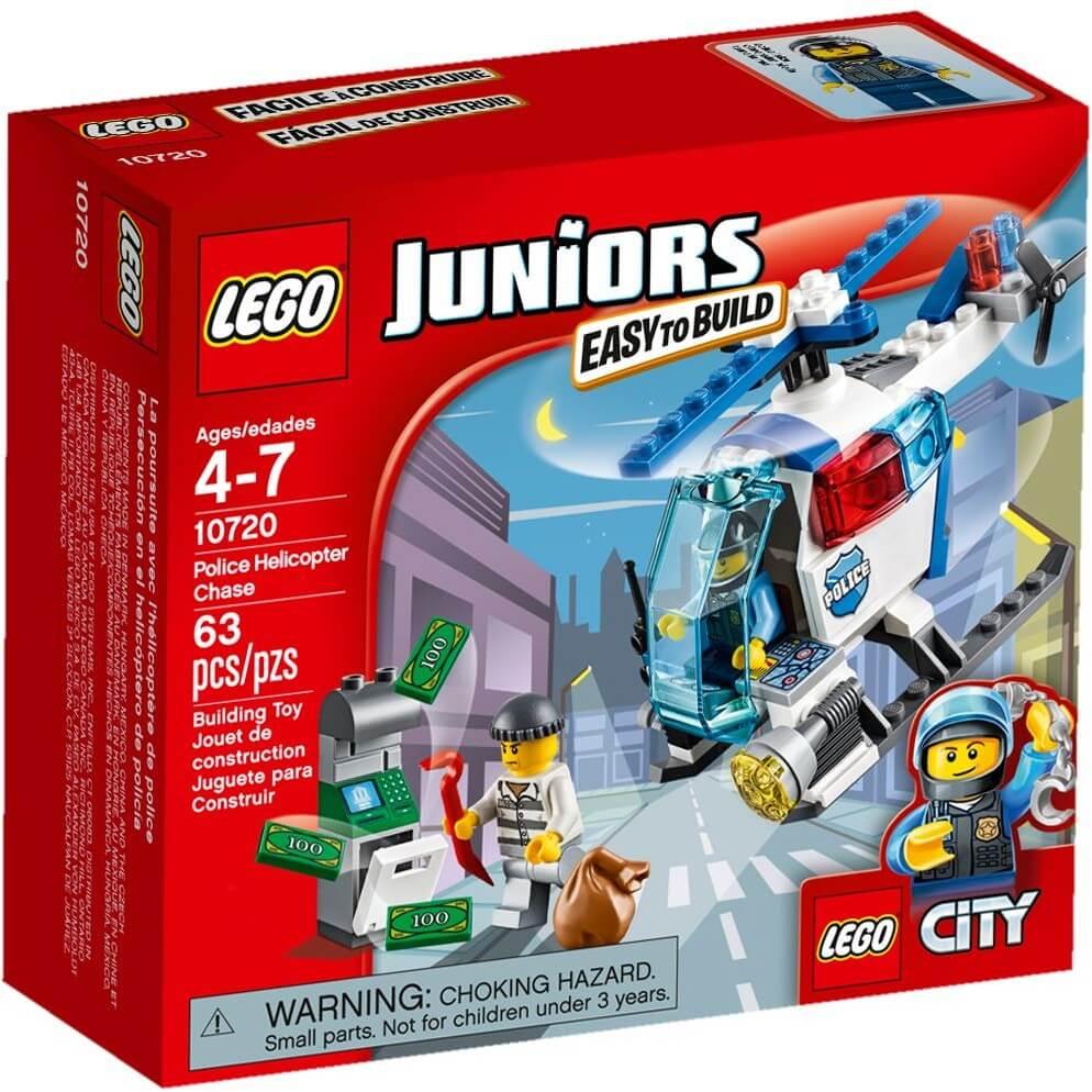 Mua đồ chơi LEGO 10720 - LEGO Juniors 10720 - Máy bay Trực Thăng Cảnh Sát (LEGO Juniors Police Helicopter Chase 10720)
