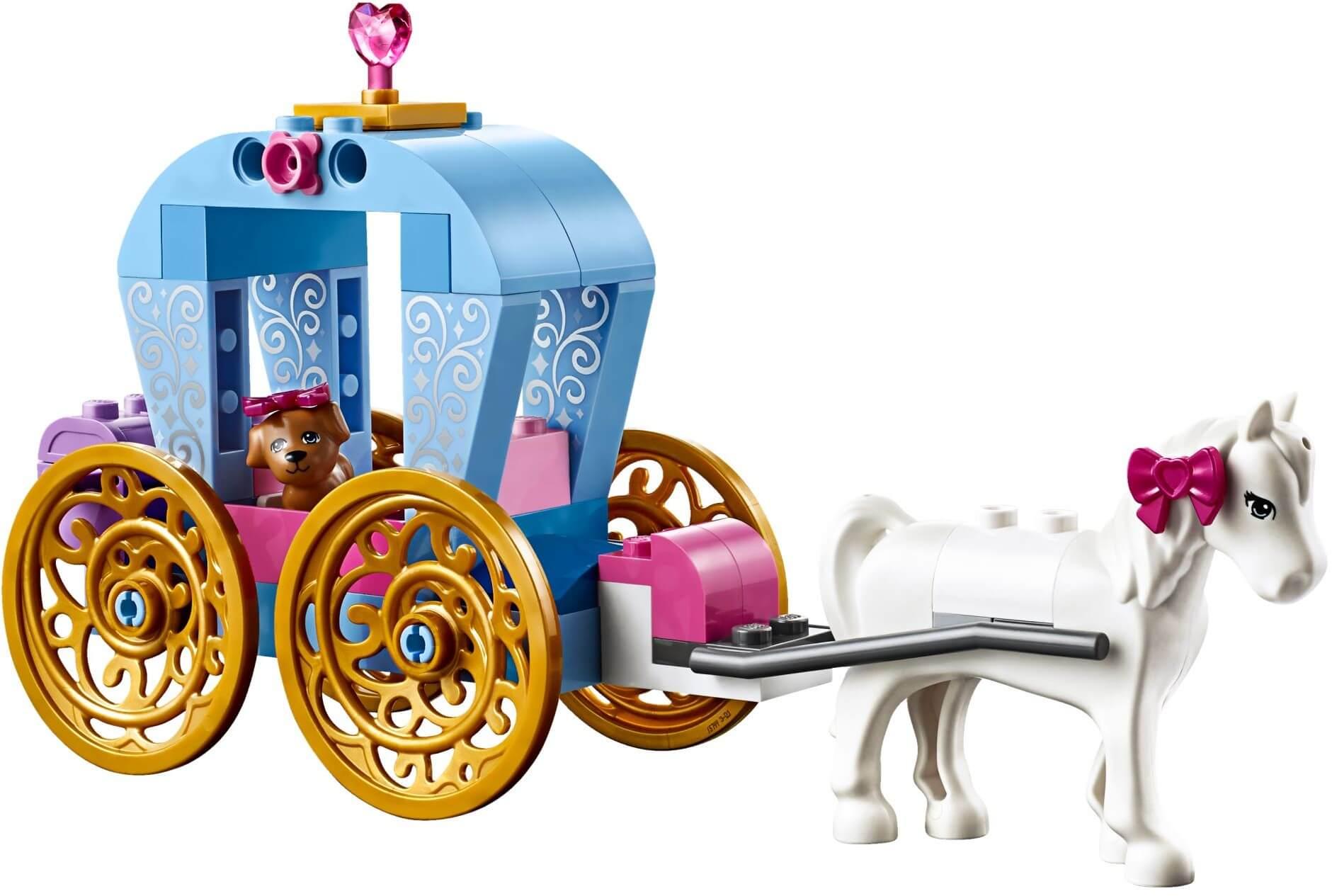 Mua đồ chơi LEGO 10729 - LEGO Juniors 10729 - Cỗ Xe Ngựa của Cinderella (LEGO Juniors Cinderella's Carriage 10729)