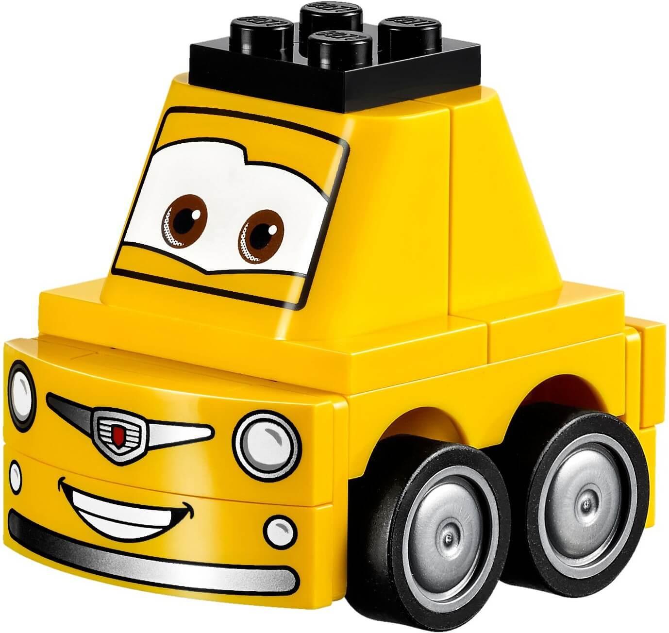 Mua đồ chơi LEGO 10732 - LEGO Juniors 10732 - Trạm Sửa Chữa của Guido và Luigi (LEGO Juniors Cars 3: Guido and Luigi's Pit Stop)