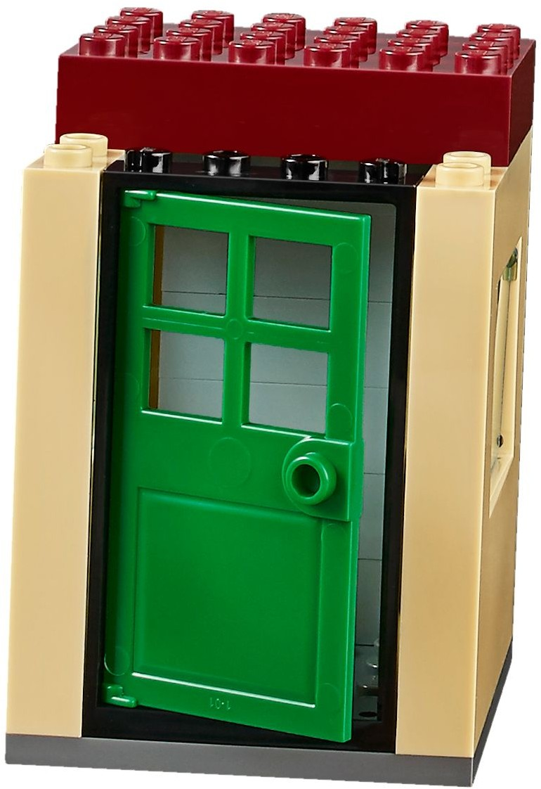 Mua đồ chơi LEGO 10734 - LEGO Juniors 10734 - Đội Xe Công Trường của Bé (LEGO Juniors Demolition Site 10734)