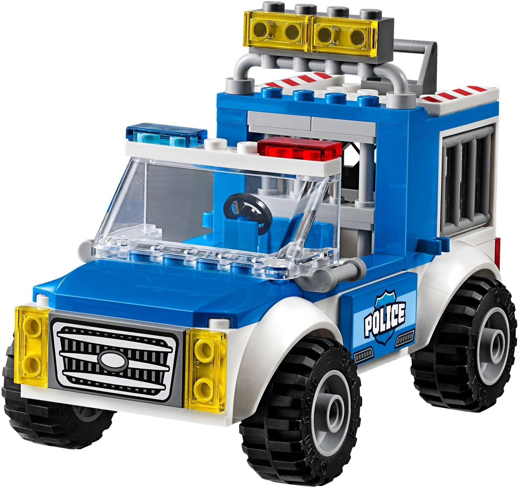 Mua đồ chơi LEGO 10735 - LEGO Juniors 10735 - Xe Tải Cảnh Sát bắt Cướp (LEGO Juniors Police Truck Chase 10735)