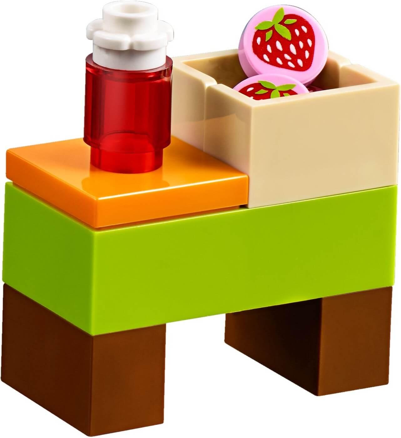 Mua đồ chơi LEGO 10749 - LEGO Juniors 10749 - Xe bán Hoa quả của Mia (LEGO Juniors 10749 Mia's Organic Food Market)