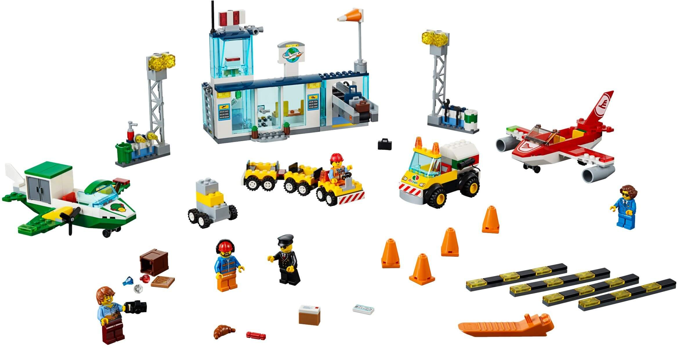 Mua đồ chơi LEGO 10764 - LEGO Juniors 10764 - Sân Bay Trung Tâm Thành Phố (LEGO 10764 City Central Airport)