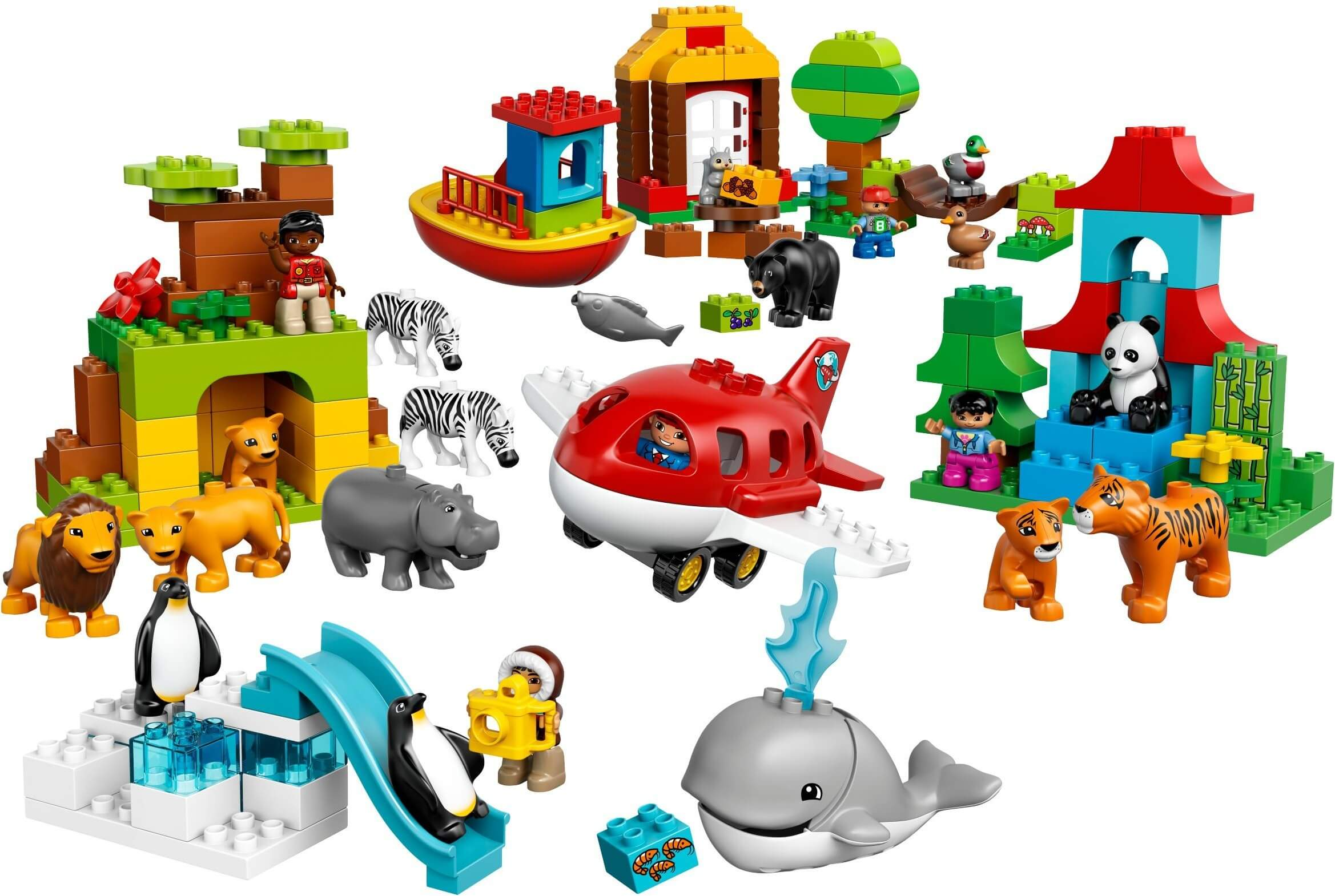 Mua đồ chơi LEGO 10805 - LEGO DUPLO 10805 - Bộ Mô Hình Du Lịch Vòng Quanh Thế Giới (LEGO DUPLO Around the World 10805)