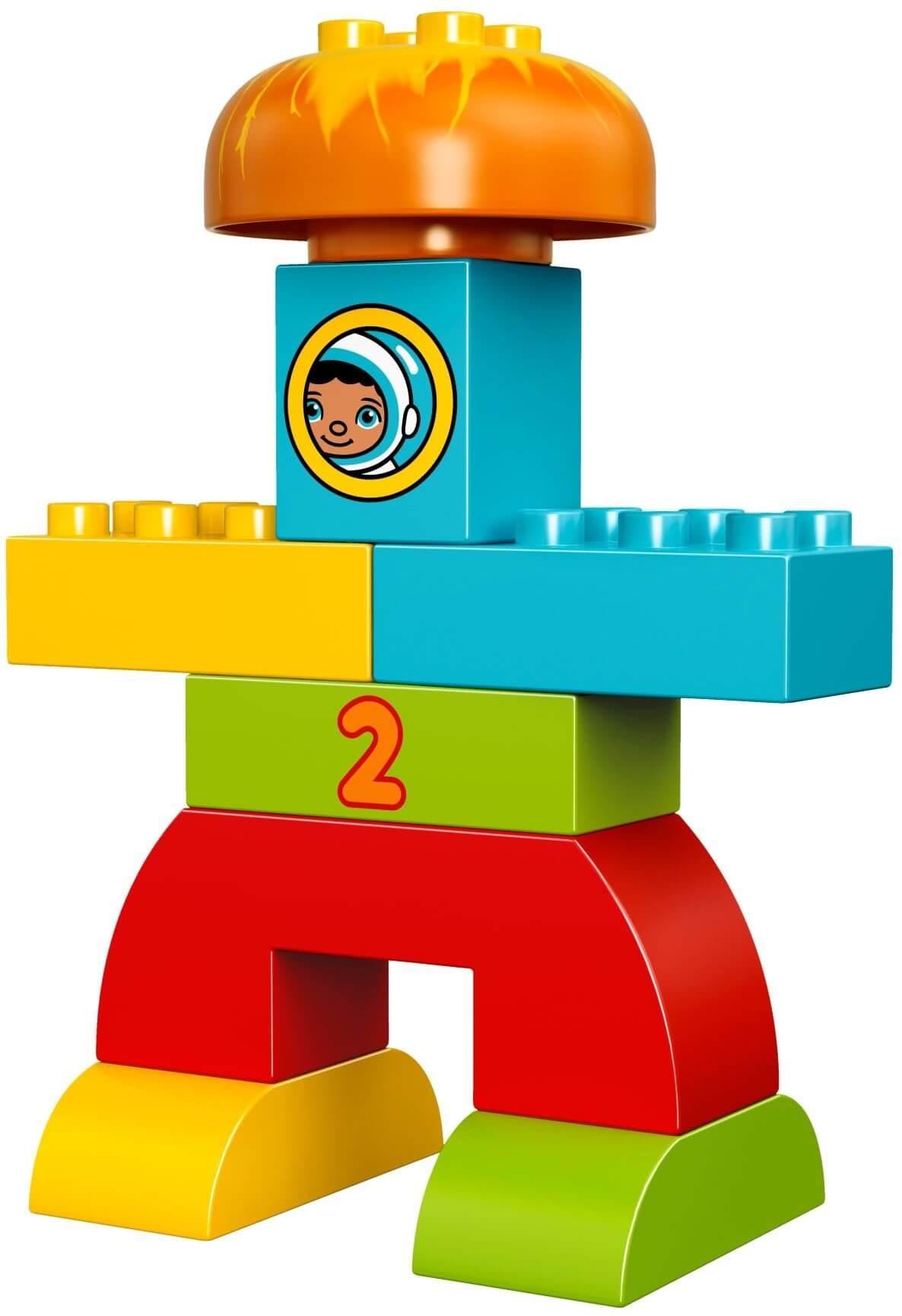 Mua đồ chơi LEGO 10815 - LEGO DUPLO 10815 - Bộ Xếp Hình Tên Lửa của Bé (LEGO DUPLO My First Rocket 10815)