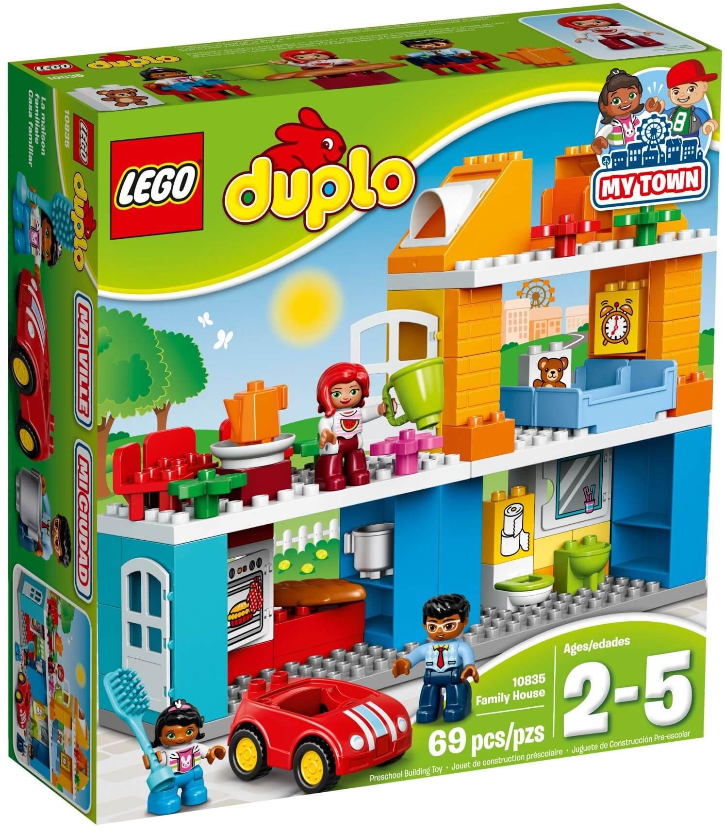Mua đồ chơi LEGO 10835 - LEGO DUPLO 10835 - Ngôi Nhà của Bé (LEGO 10835 Family House)