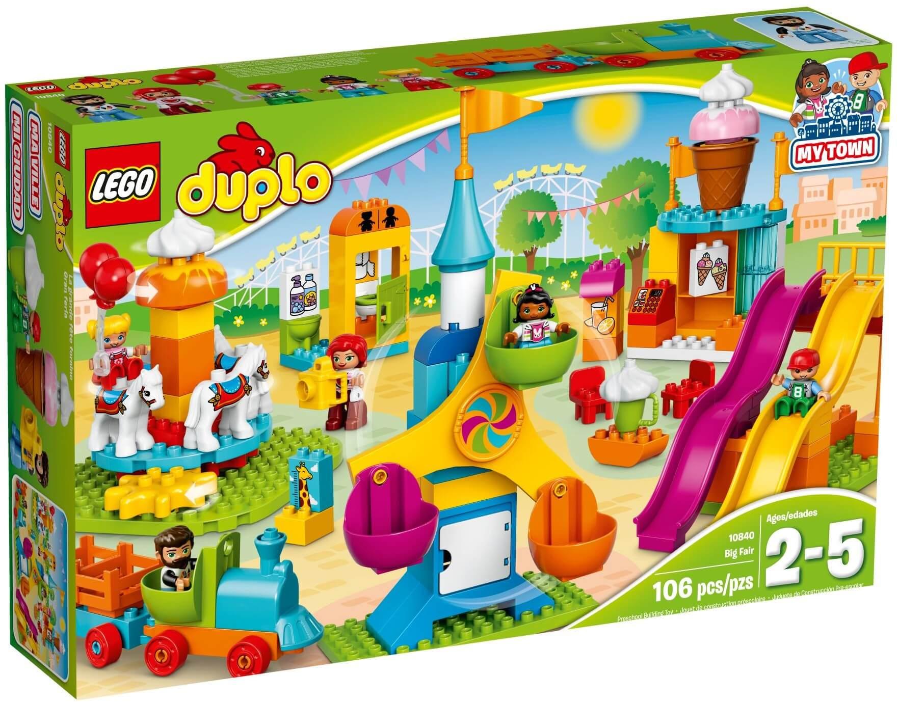 Mua đồ chơi LEGO 10840 - LEGO Duplo 10840 - Công Viên Giải Trí Lớn (LEGO Duplo Big Fair)