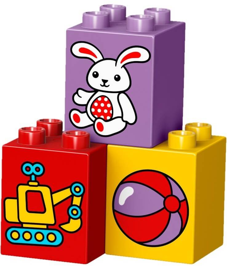 Mua đồ chơi LEGO 10845 - LEGO DUPLO 10845 - Vòng Đu Quay của Bé (LEGO 10845 My First Carousel)