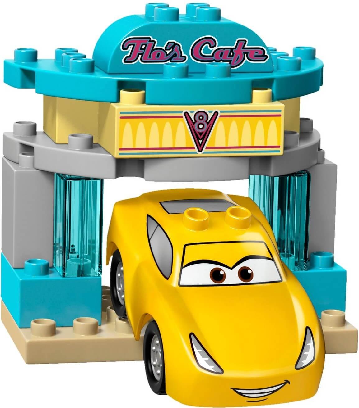 Mua đồ chơi LEGO 10846 - LEGO Duplo 10846 - Cars 3: McQueen, Cruz và Mack (LEGO Duplo Flo's Café)