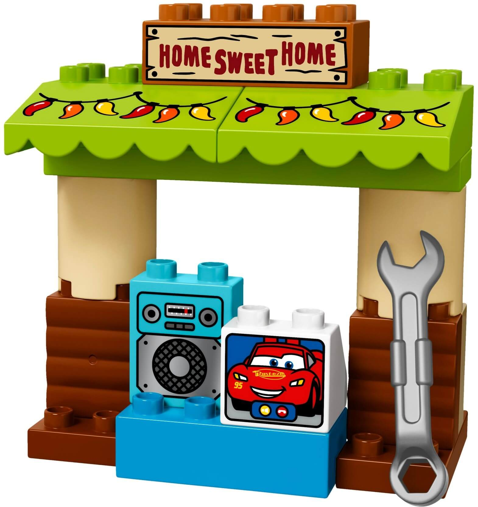 Mua đồ chơi LEGO 10856 - LEGO Duplo 10856 - Trạm Sửa Chữa của Mater (LEGO Duplo Cars 3: Mater´s Shed)