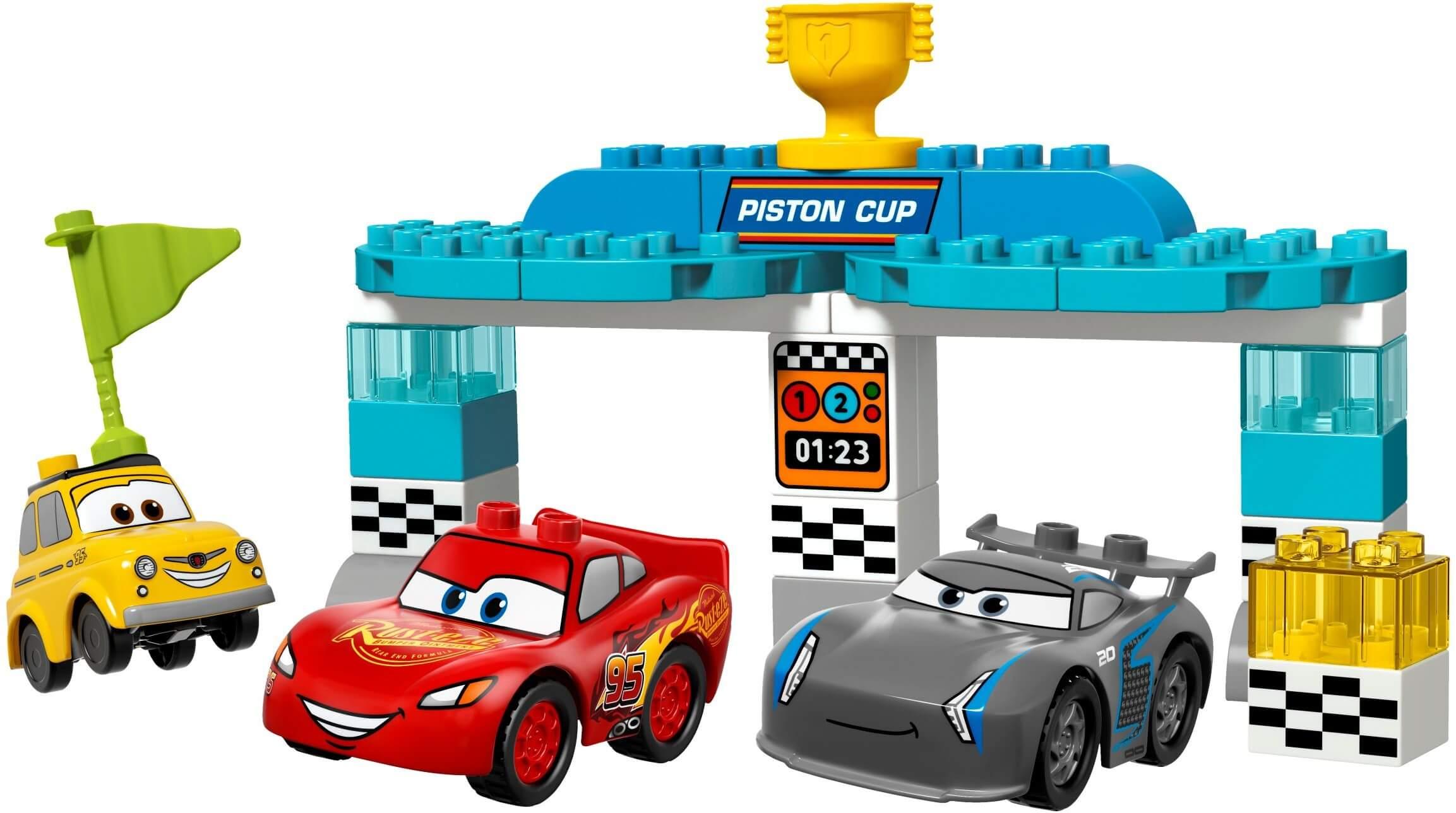 Mua đồ chơi LEGO 10857 - LEGO Duplo 10857 - Cuộc Đua Giành Cúp Piston (LEGO Duplo Cars 3: Piston Cup Rate)