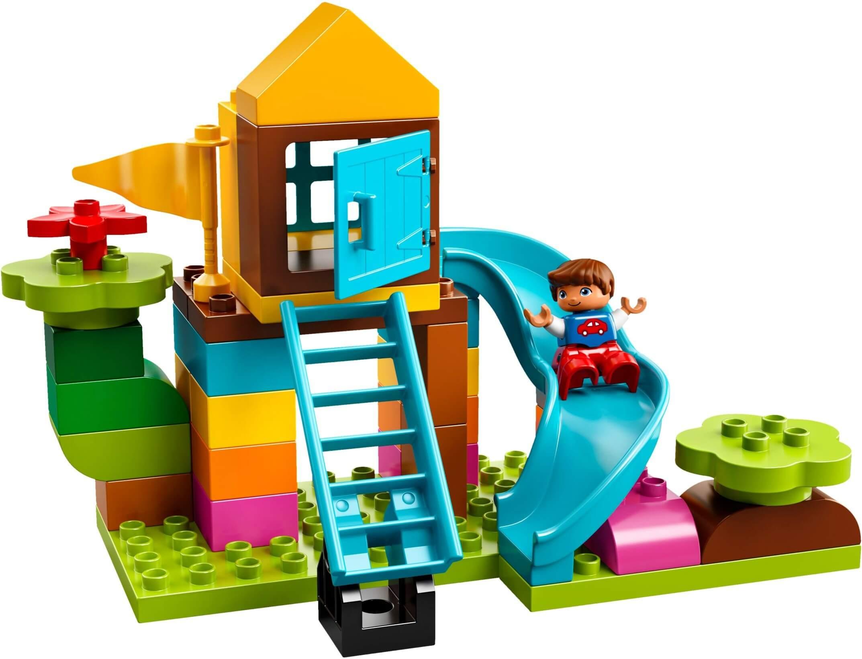 Mua đồ chơi LEGO 10864 - LEGO Duplo 10864 - Khu Vui Chơi của Bé (LEGO Duplo 10864 Large Playground Brick Box)