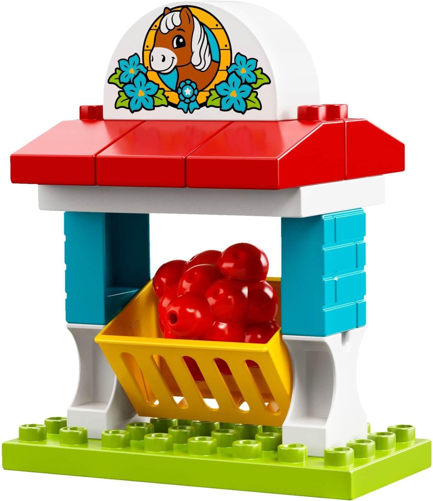 Mua đồ chơi LEGO 10868 - LEGO Duplo 10868 - Trại Nuôi Ngựa của Bé (LEGO Duplo 10868 Farm Pony Stable)
