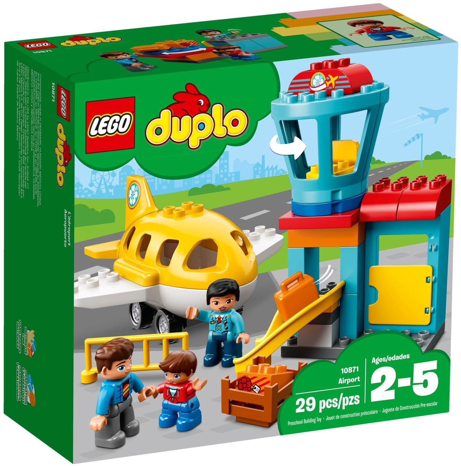 Mua đồ chơi LEGO 10871 - LEGO Duplo 10871 - Sân Bay của Bé (LEGO Duplo 10871 Airport)