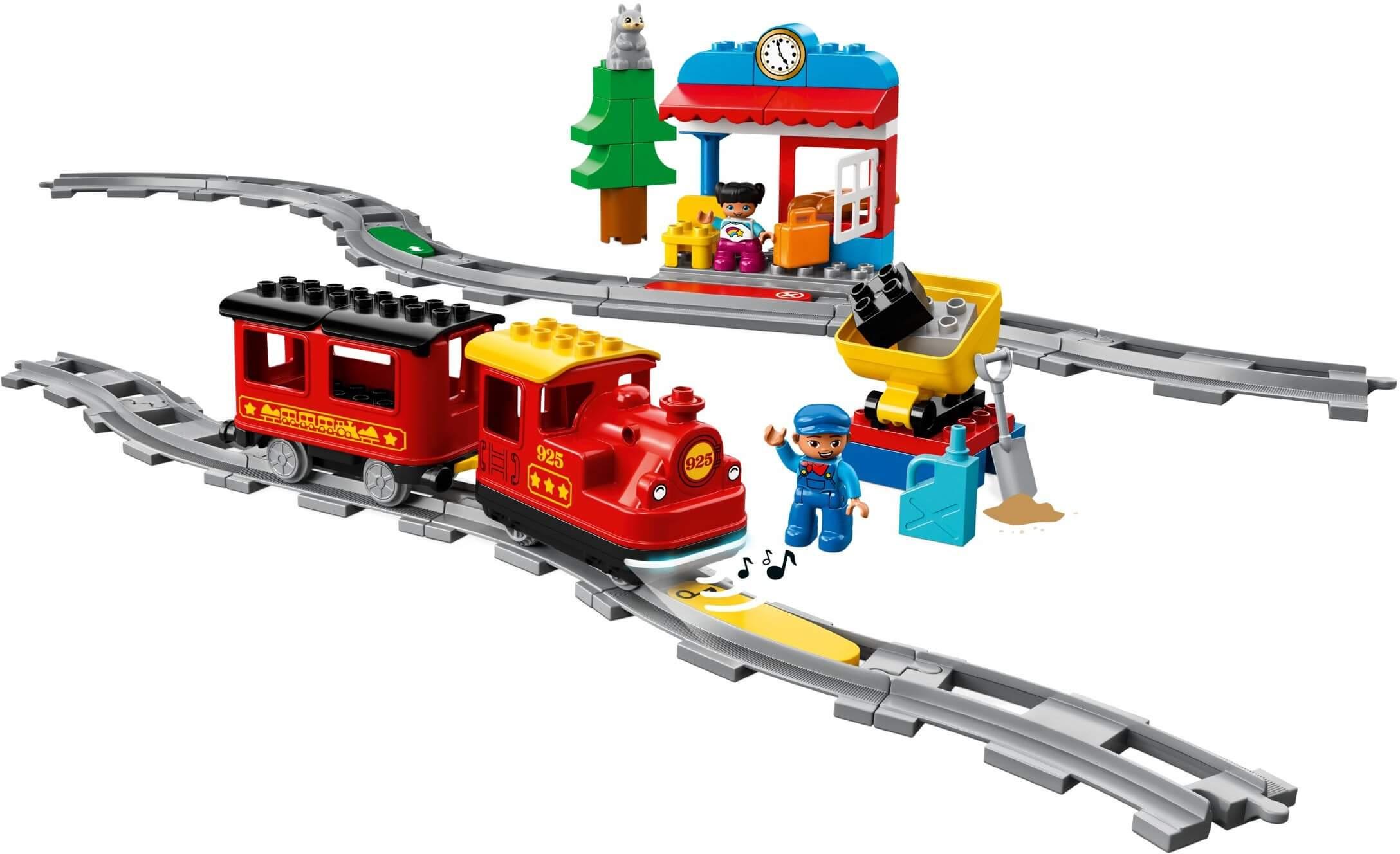Mua đồ chơi LEGO 10874 - LEGO Duplo 10874 - Xe Lửa Hơi Nước (LEGO 10874 Steam Train)