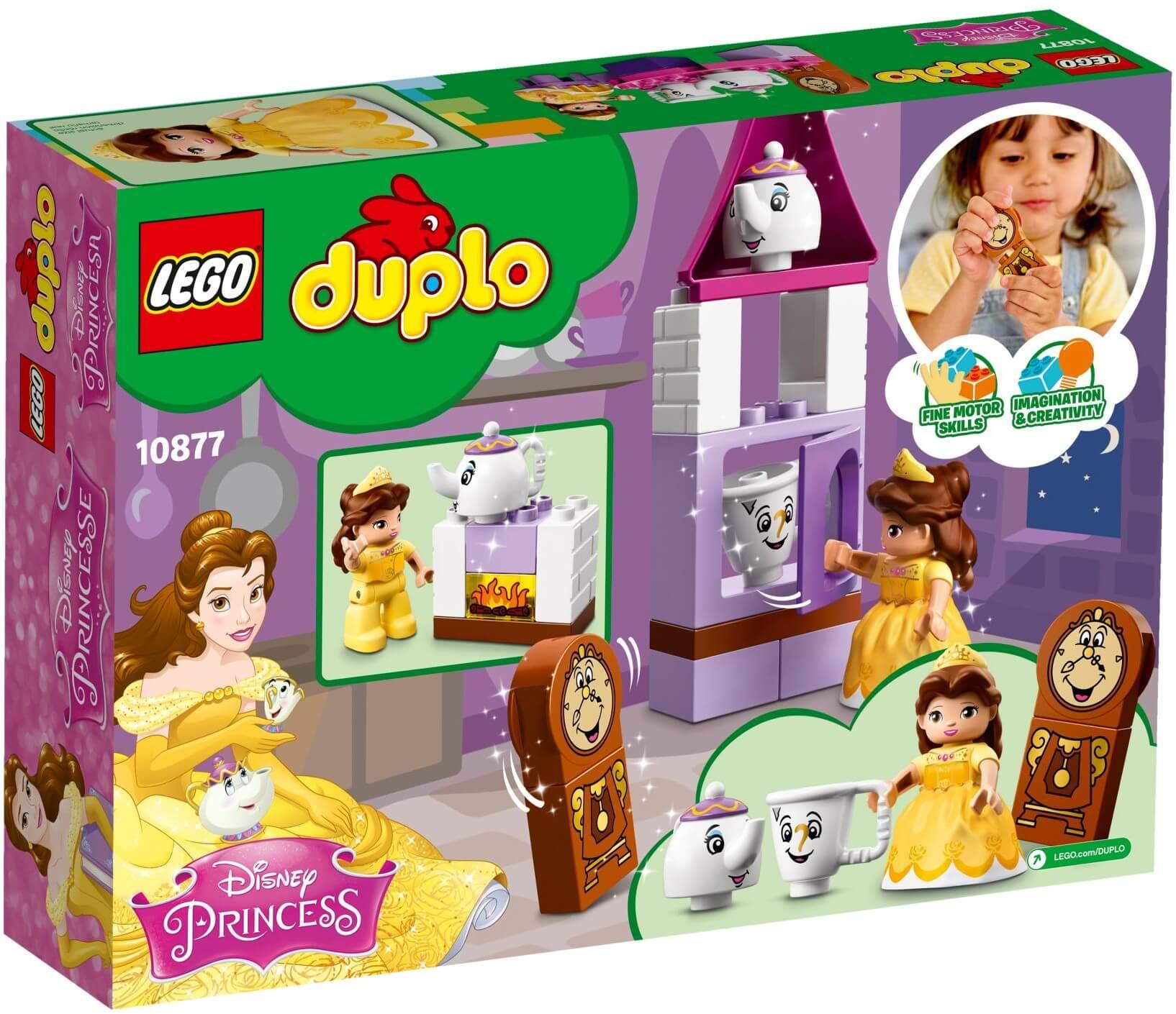 Mua đồ chơi LEGO 10877 - LEGO Duplo 10877 - Bữa Tiệc Trà của Belle (LEGO Duplo 10877 Belle´s Tea Party)