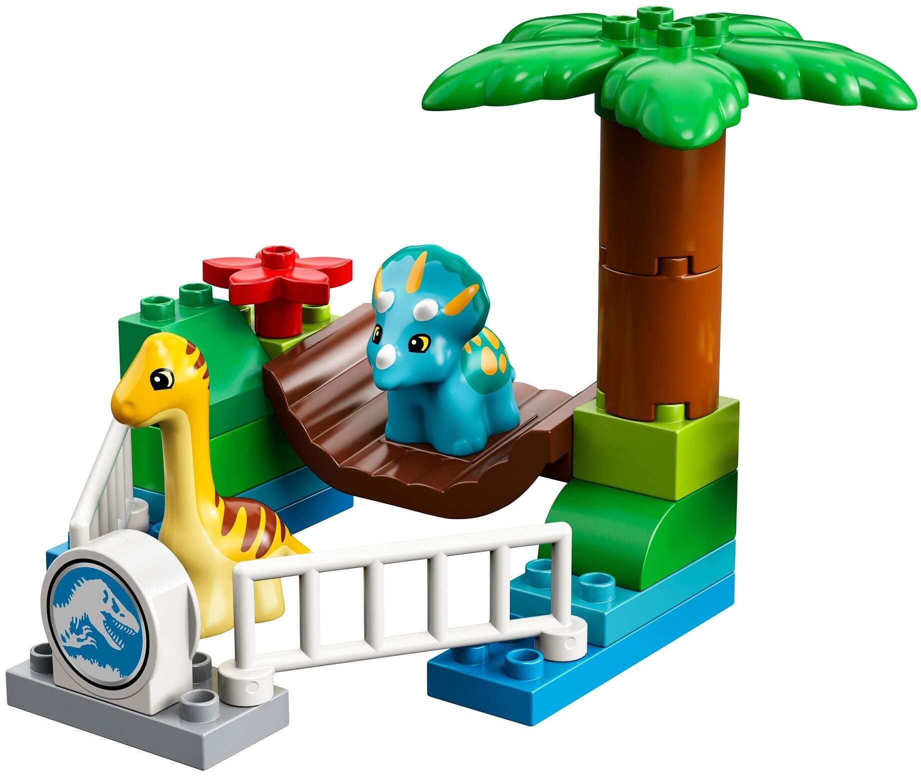 Mua đồ chơi LEGO 10879 - LEGO DUPLO 10879 - Xếp Hình Khủng Long của Bé (LEGO DUPLO 10879 Gentle Giants Petting Zoo)