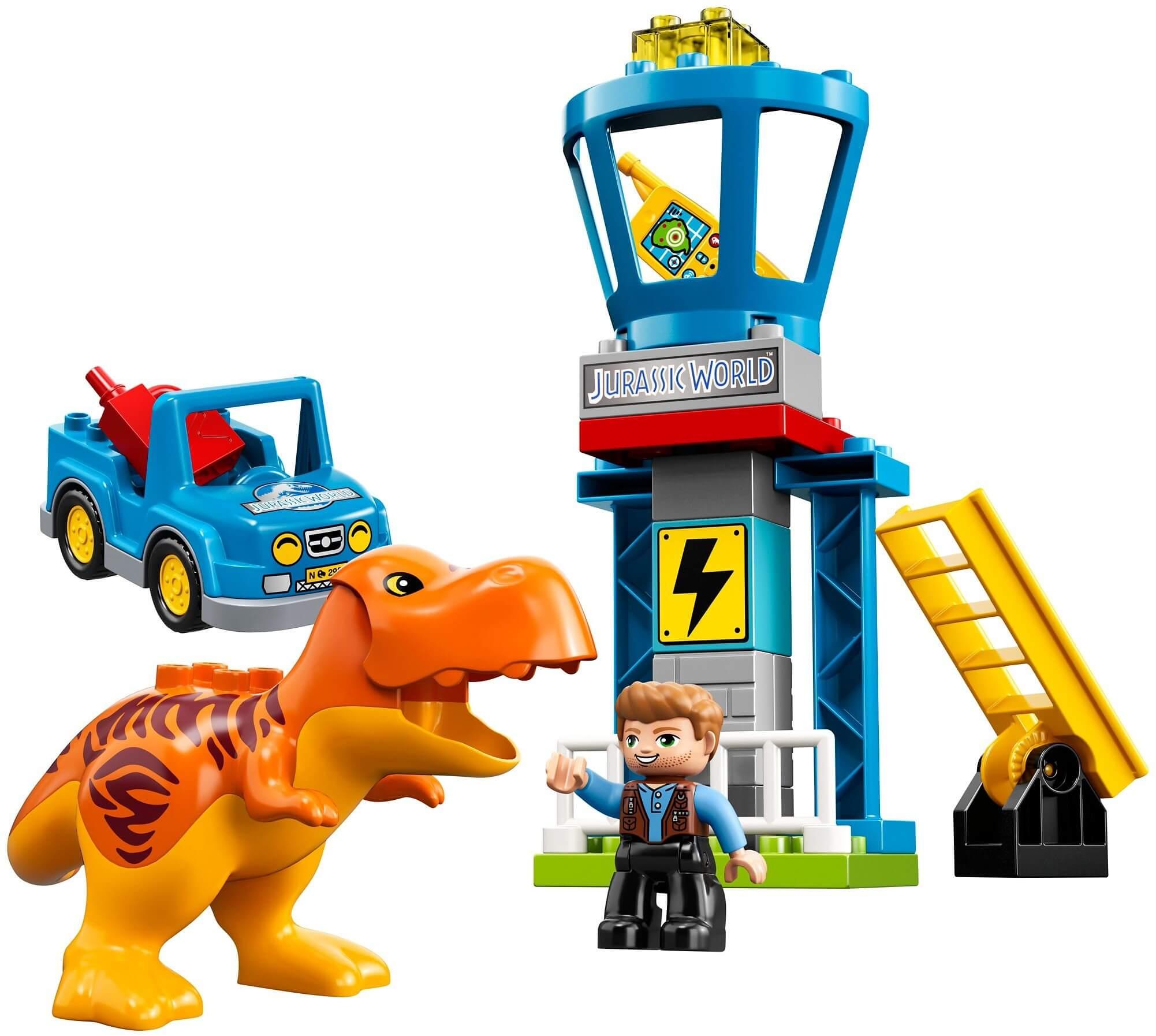 Mua đồ chơi LEGO 10880 - LEGO DUPLO 10880 - Xếp Hình Khủng Long Bạo Chúa của Bé (LEGO DUPLO 10880 T. rex Tower)