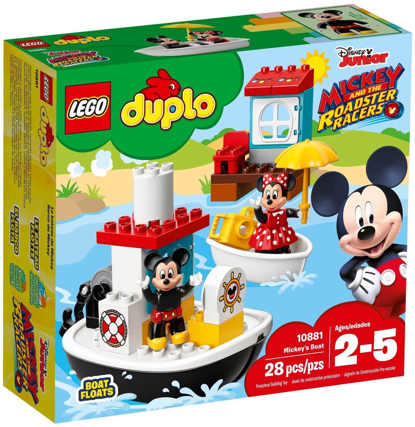Mua đồ chơi LEGO 10881 - LEGO DUPLO 10881 - Du Thuyền của Mickey và Minnie (LEGO 10881 Mickey's Boat)