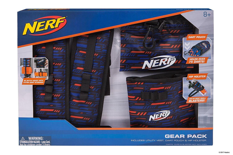 Mua đồ chơi súng NERF 11522 - (mã: 11522) Bộ Áo giáp NERF Elite Mobile Gear Pack (dòng N-Strike Elite)