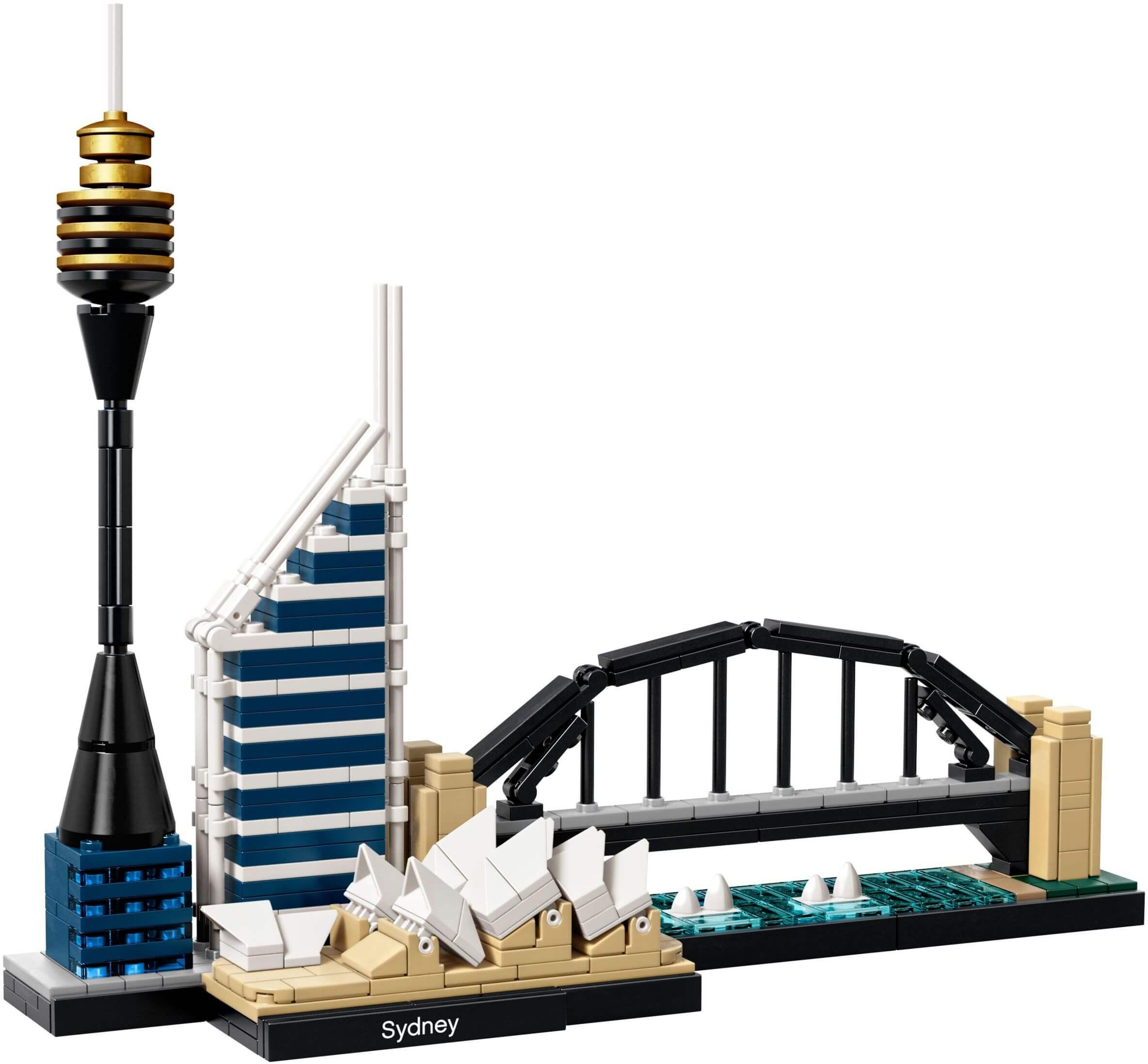 Mua đồ chơi LEGO 21032 - LEGO Architecture 21032 - Thành Phố Sidney (LEGO 21032 Sidney)