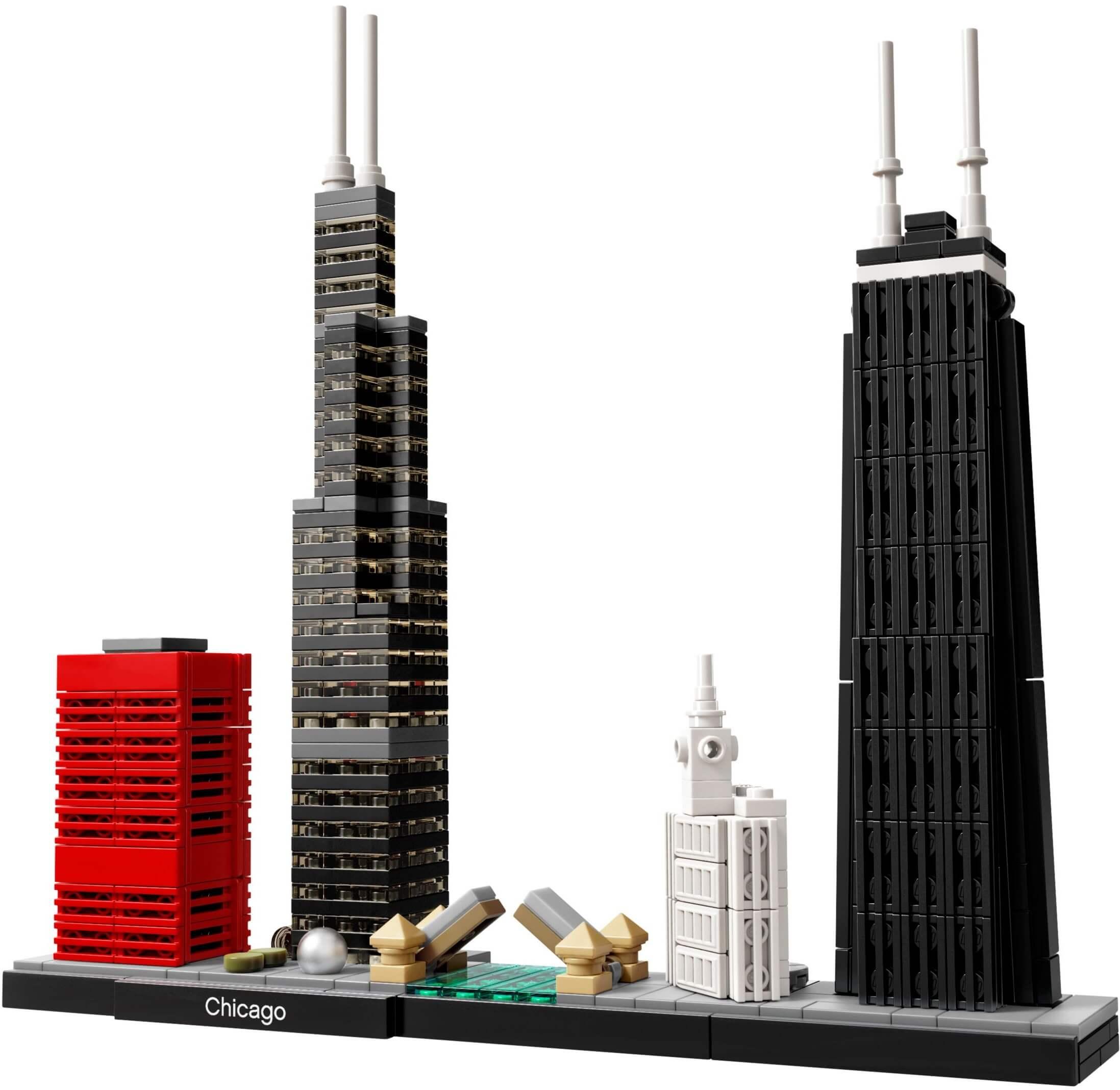 Mua đồ chơi LEGO 21033 - LEGO Architecture 21033 - Thành Phố Chicago (LEGO 21033 Chicago)