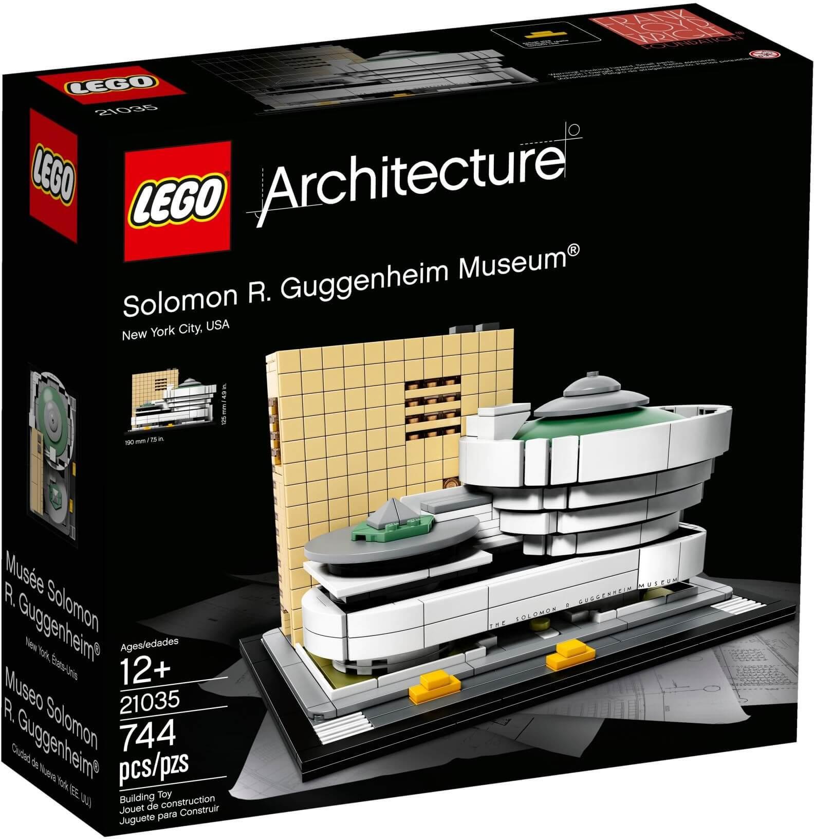 Mua đồ chơi LEGO 21035 - LEGO Architecture 21035 - Viện Bảo Tàng Solomon R. Guggenheim (LEGO Architecture Solomon R. Guggenheim Museum)