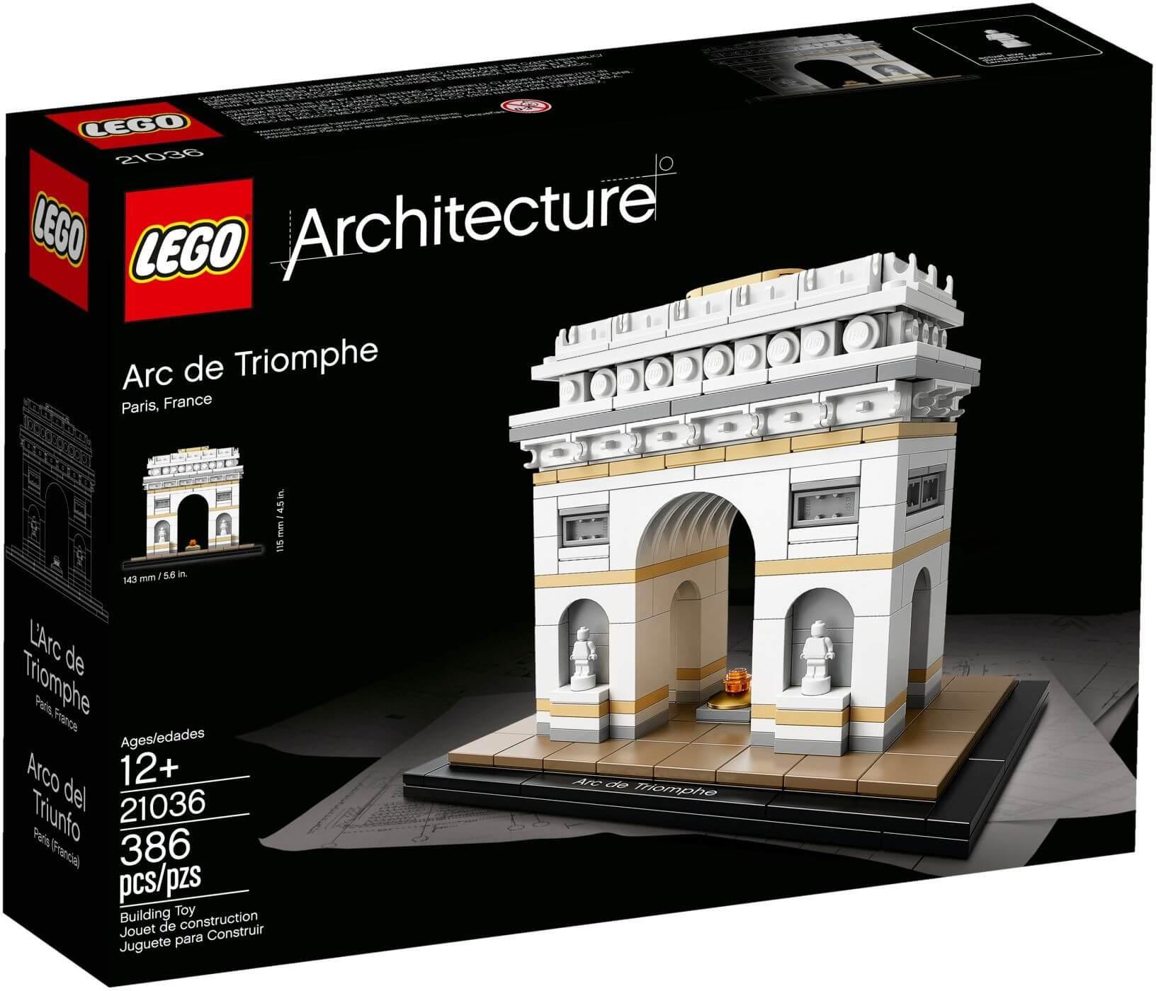 Mua đồ chơi LEGO 21036 - LEGO Architecture 21036 - Khải Hoàn Môn (LEGO Architecture Arc de Triomphe)