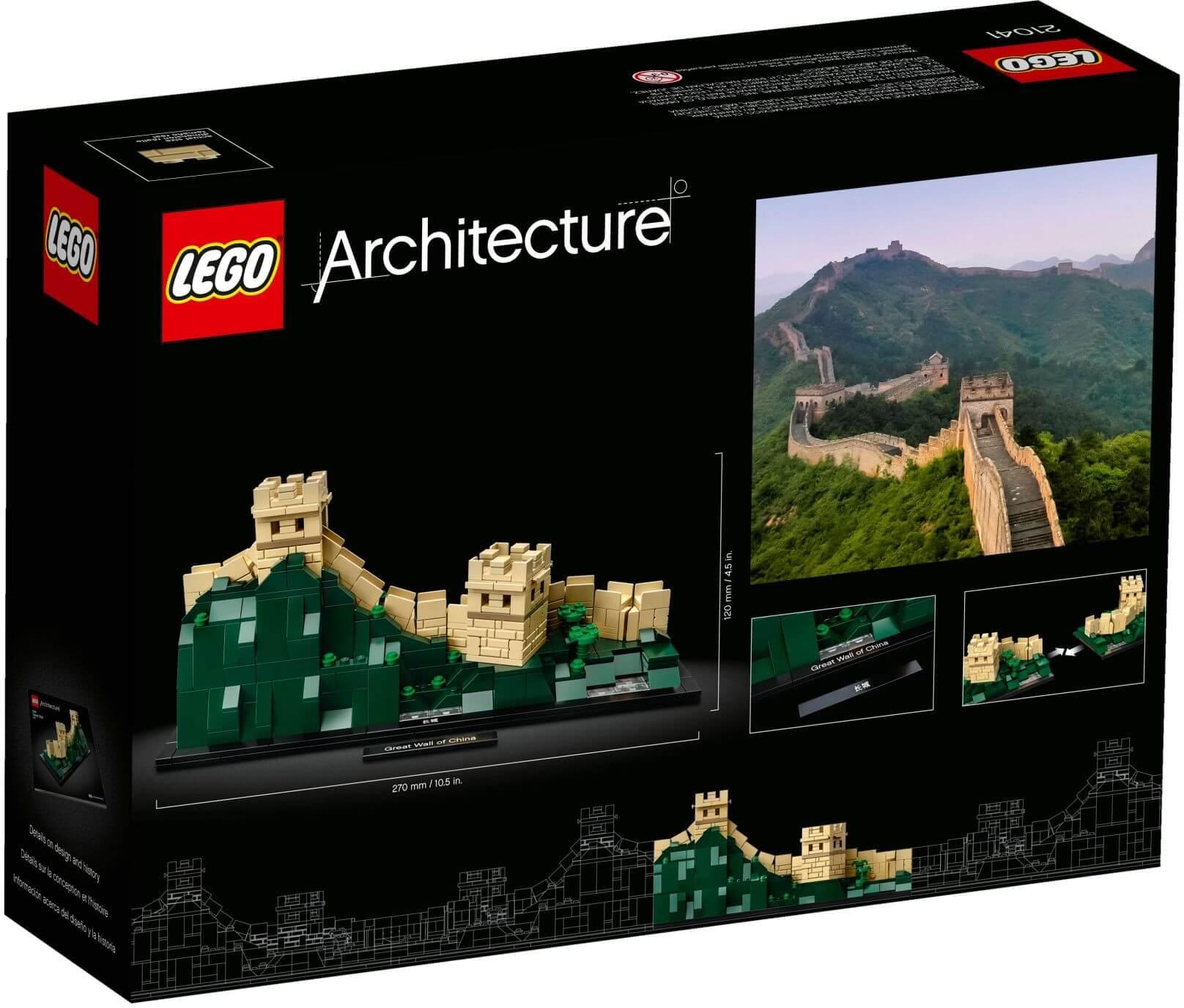 Mua đồ chơi LEGO 21041 - LEGO Architecture 21041 - Mô hình Vạn Lý Trường Thành tại Trung Quốc (LEGO 21041 Great Wall of China)
