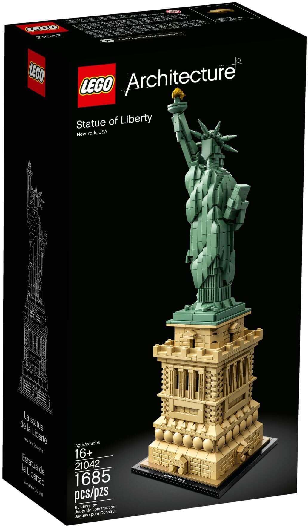 Mua đồ chơi LEGO 21042 - LEGO Architecture 21042 - Tượng Nữ Thần Tự Do (LEGO 21042 Statue of Liberty)