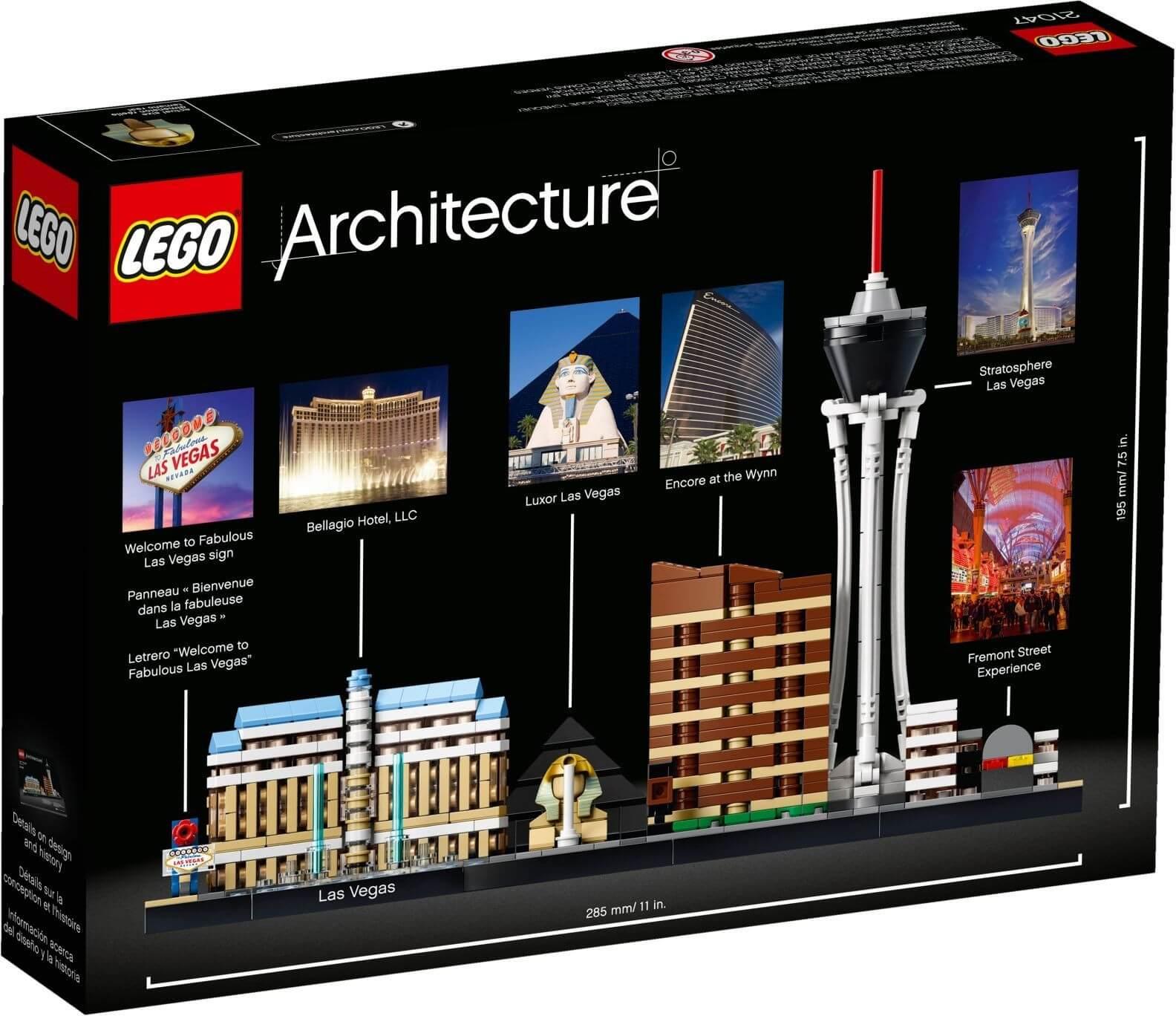 Mua đồ chơi LEGO 21047 - LEGO Architecture 21047 - Thành Phố Las Vegas (LEGO 21047 Las Vegas)