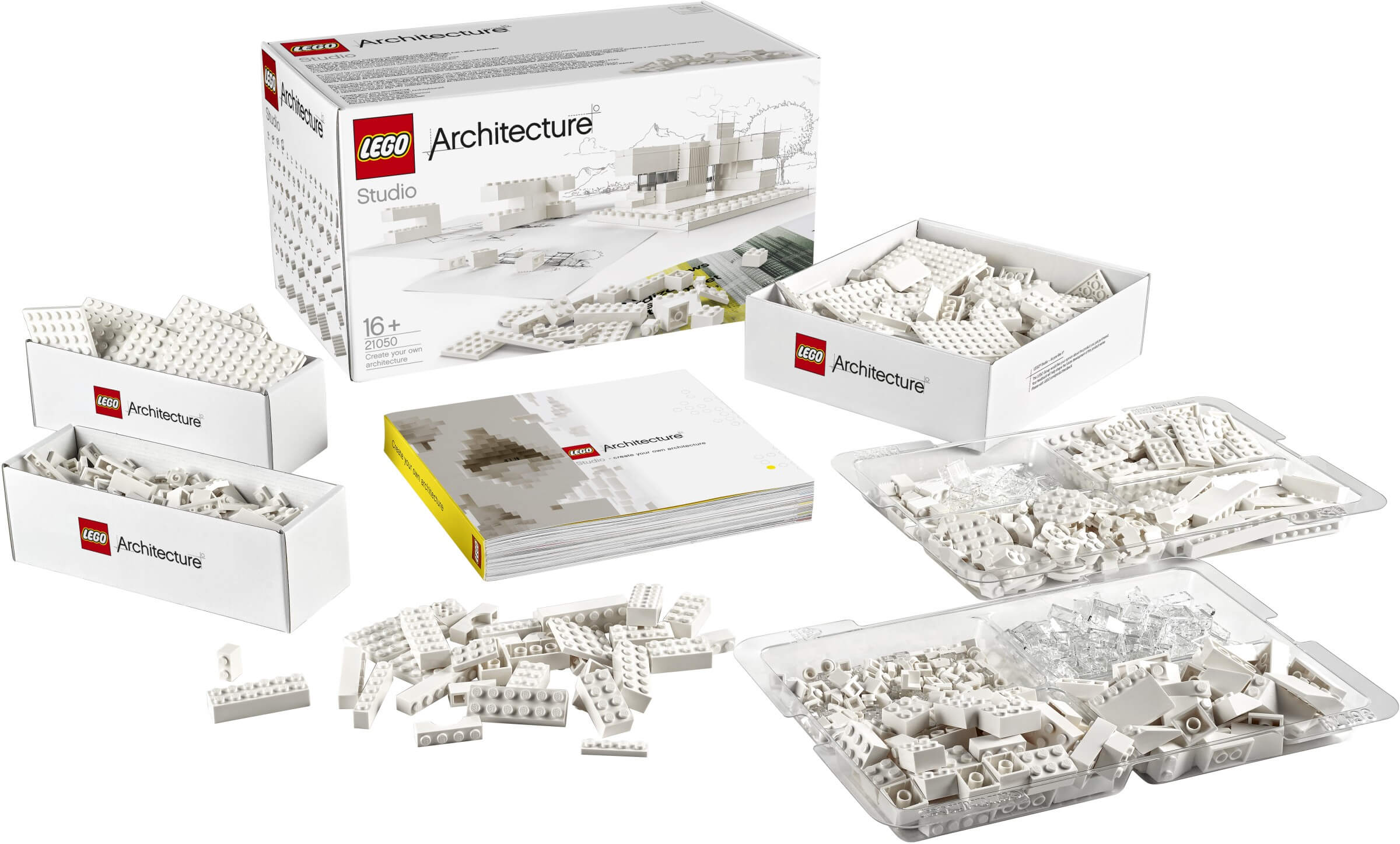 Mua đồ chơi LEGO 21050 - LEGO Architecture 21050 - LEGO Architecture Studio - Xây dựng Công trình kiến trúc (LEGO Architecture Studio 21050)