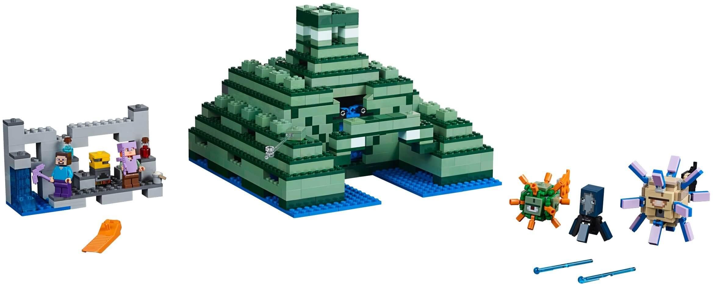 Mua đồ chơi LEGO 21136 - LEGO Minecraft 21136 - Đền Thờ trên Biển (LEGO Minecraft The Ocean Monument)
