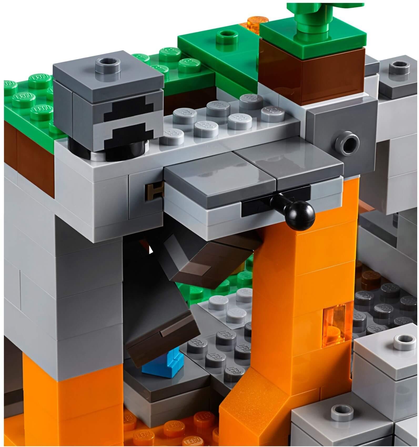 Mua đồ chơi LEGO 21141 - LEGO Minecraft 21141 - Hang Động Zombie (LEGO Minecraft 21141 The Zombie Cave)