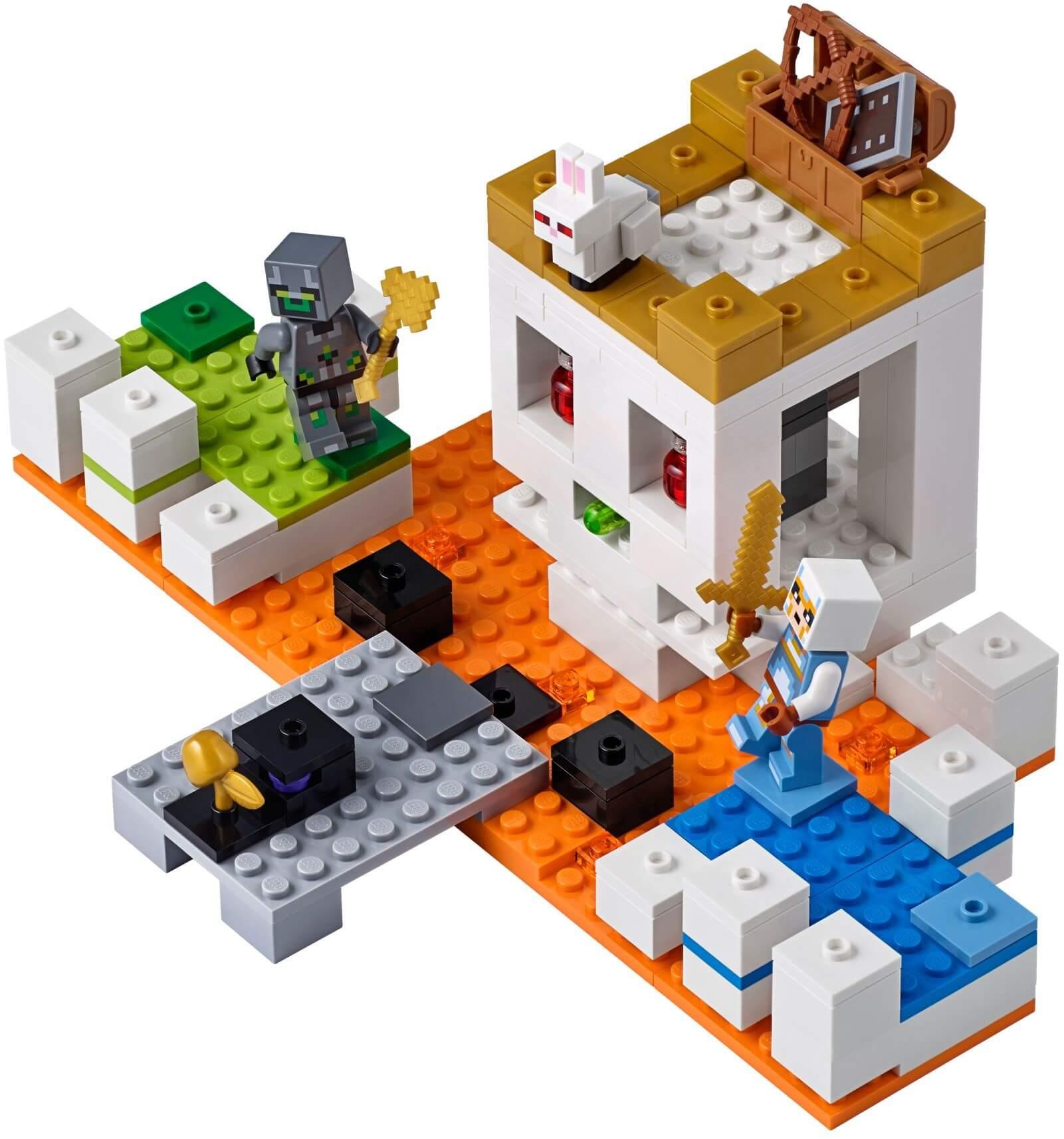 Mua đồ chơi LEGO 21145 - LEGO Minecraft 21145 - Đấu Trường Đầu Lâu (LEGO 21145 The Skull Arena)
