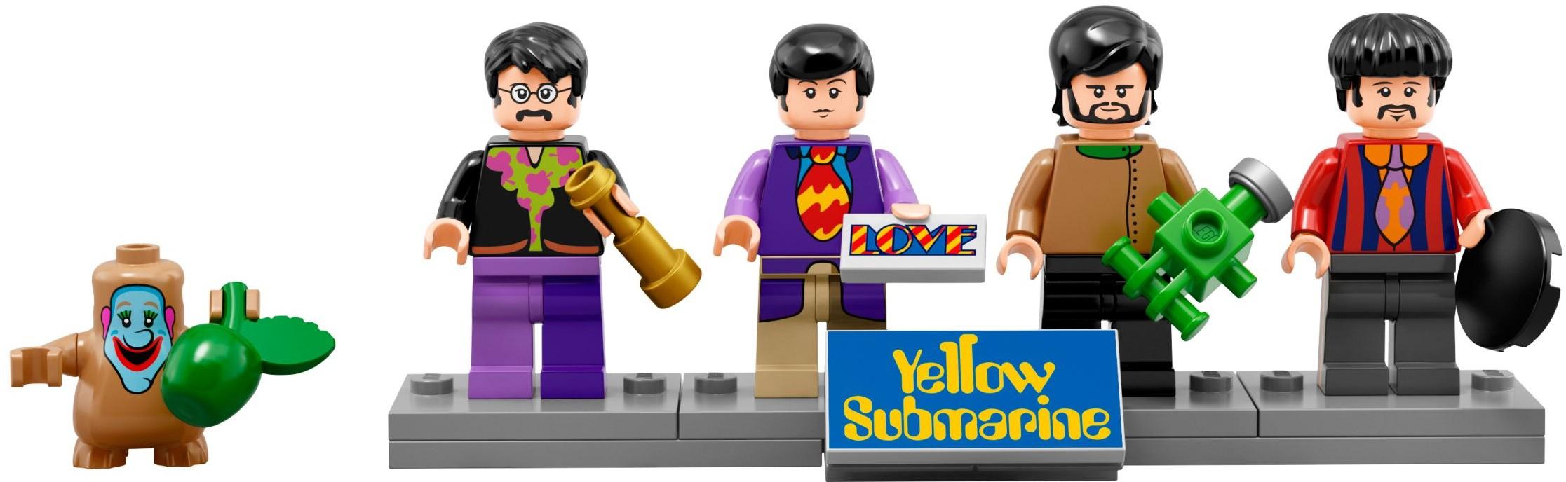 Mua đồ chơi LEGO 21306 - LEGO Ideas 21306 - Yellow Submarine của nhóm Beatles (LEGO Ideas Yellow Submarine 21306)