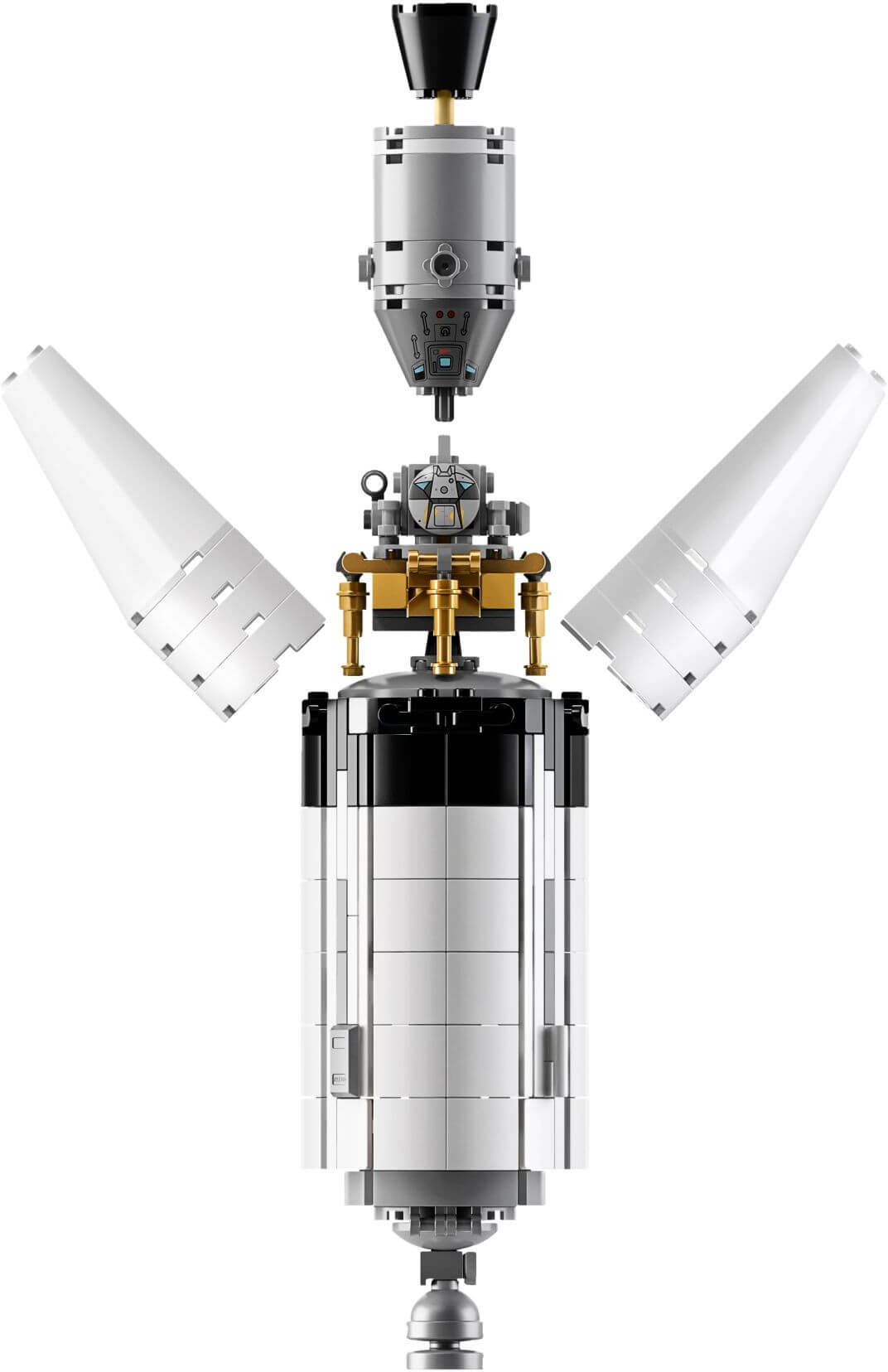 Mua đồ chơi LEGO 21309 - LEGO Ideas 21309 - Tên Lửa Apollo Saturn V phóng lên Mặt Trăng (LEGO Ideas NASA Apollo Saturn V)