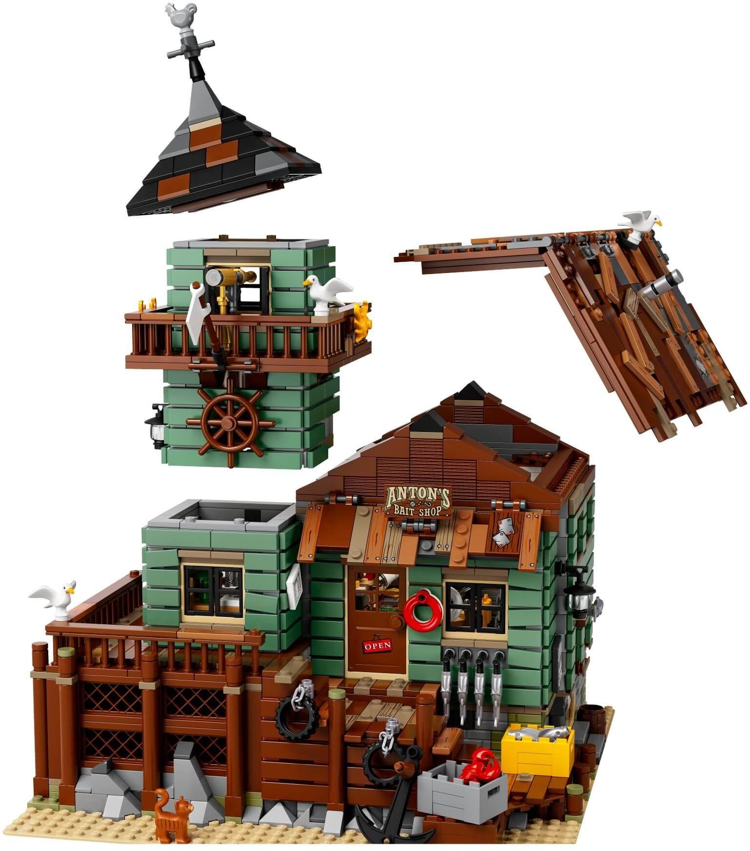 Mua đồ chơi LEGO 21310 - LEGO Ideas 21310 - Nhà Cổ Làng Chài (LEGO Ideas Old Fishing Store)