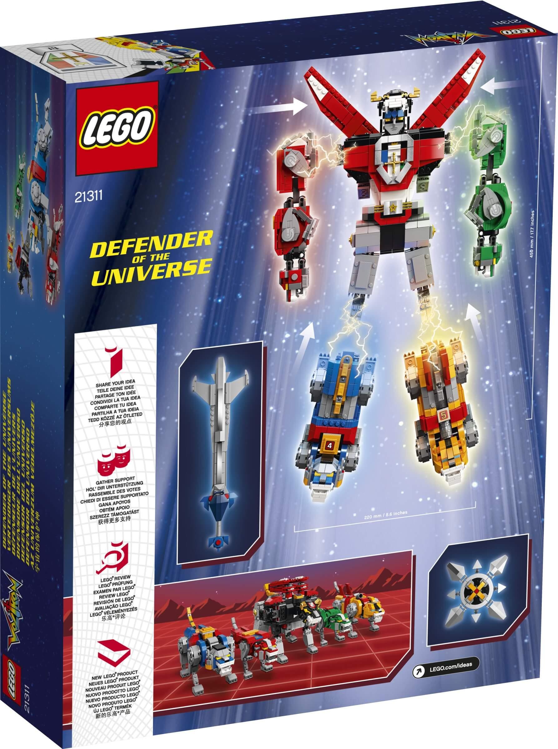 Mua đồ chơi LEGO 21311 - LEGO Ideas 21311 - Người Máy Voltron Biến Hình (LEGO Ideas 21311 Voltron)