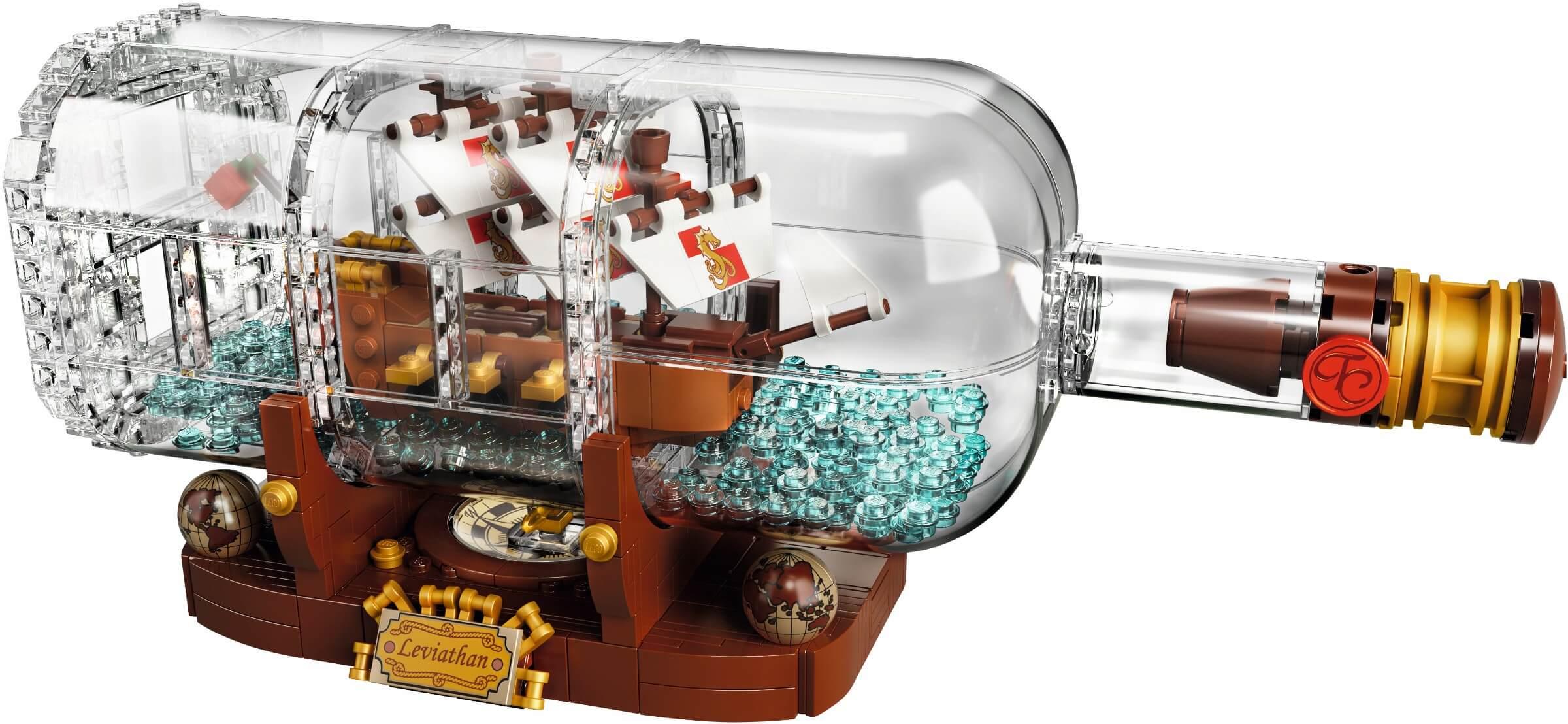 Mua đồ chơi LEGO 21313 - LEGO Ideas 21313 - Mô Hình Thuyền trong Chai Thủy Tinh (LEGO Ideas 21313 Ship in a Bottle)