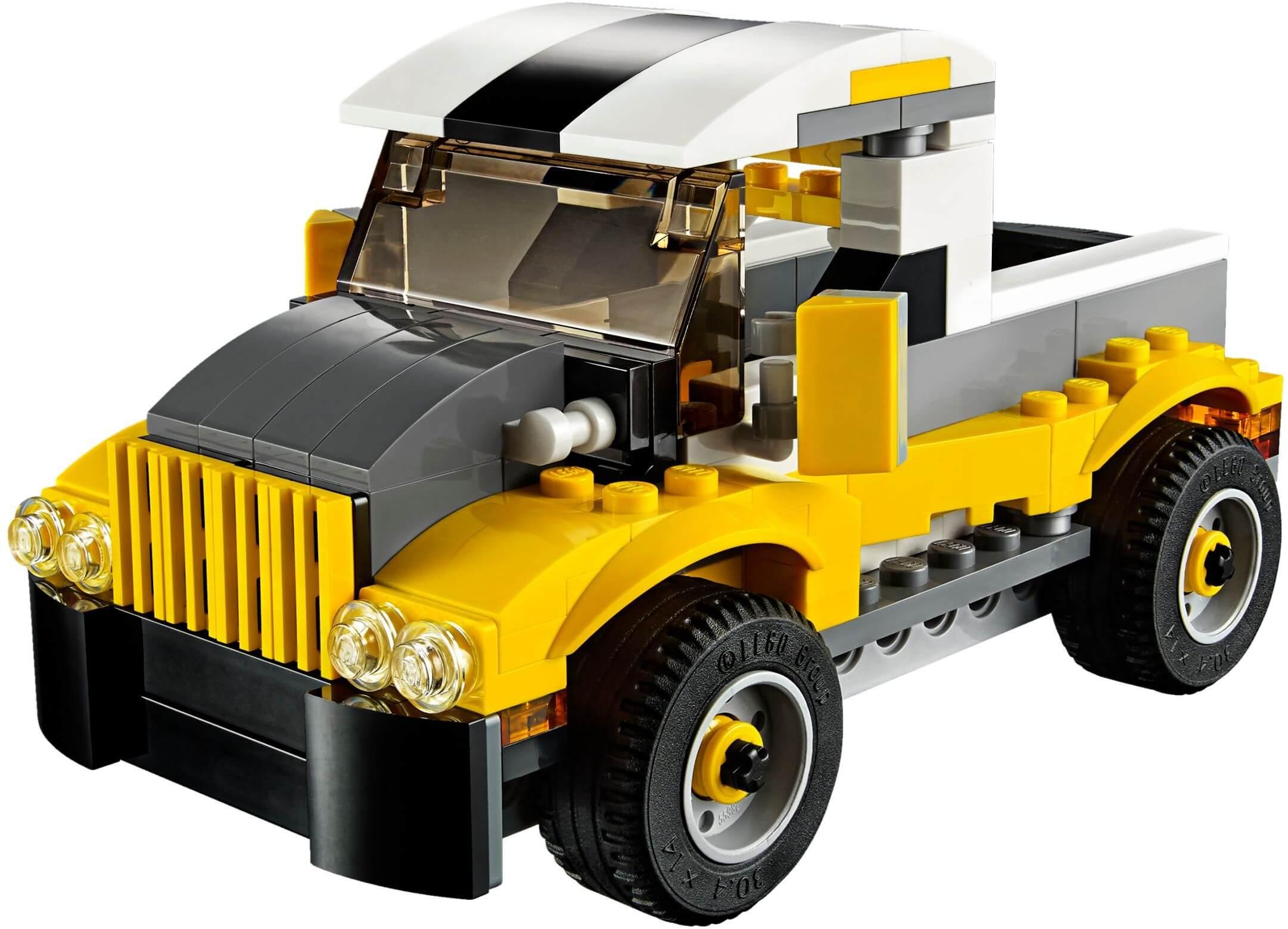 Mua đồ chơi LEGO 31046 - LEGO Creator 31046 - Xếp hình Xe Đua - Xe Tải - Xe Ủi 3-trong-1 (LEGO Creator Fast Car 31046)