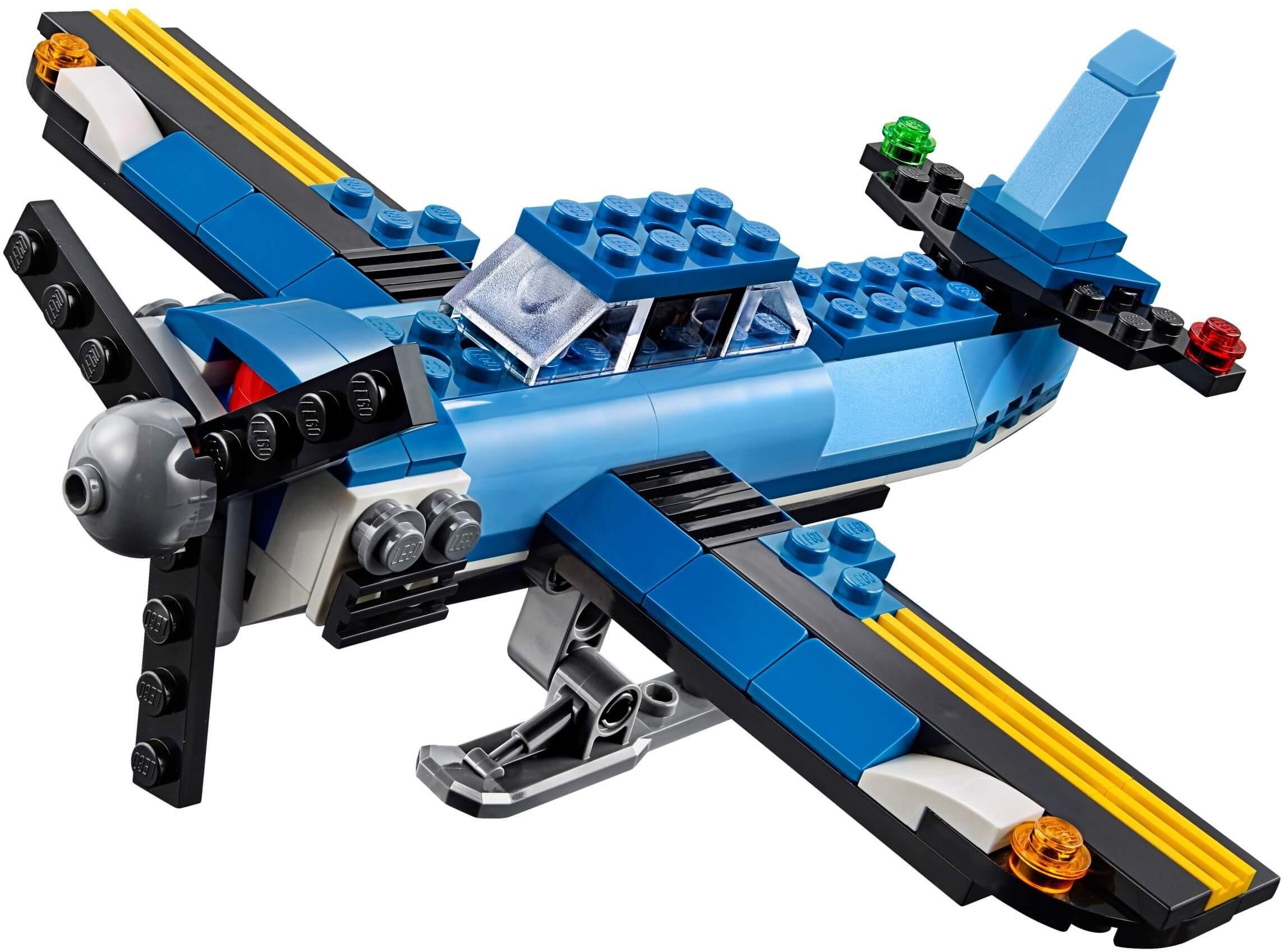 Mua đồ chơi LEGO 31049 - LEGO Creator 31049 - Mô hình Trực Thăng 2 cánh quạt 3-trong-1 (LEGO Creator Twin Spin Helicopter 31049)