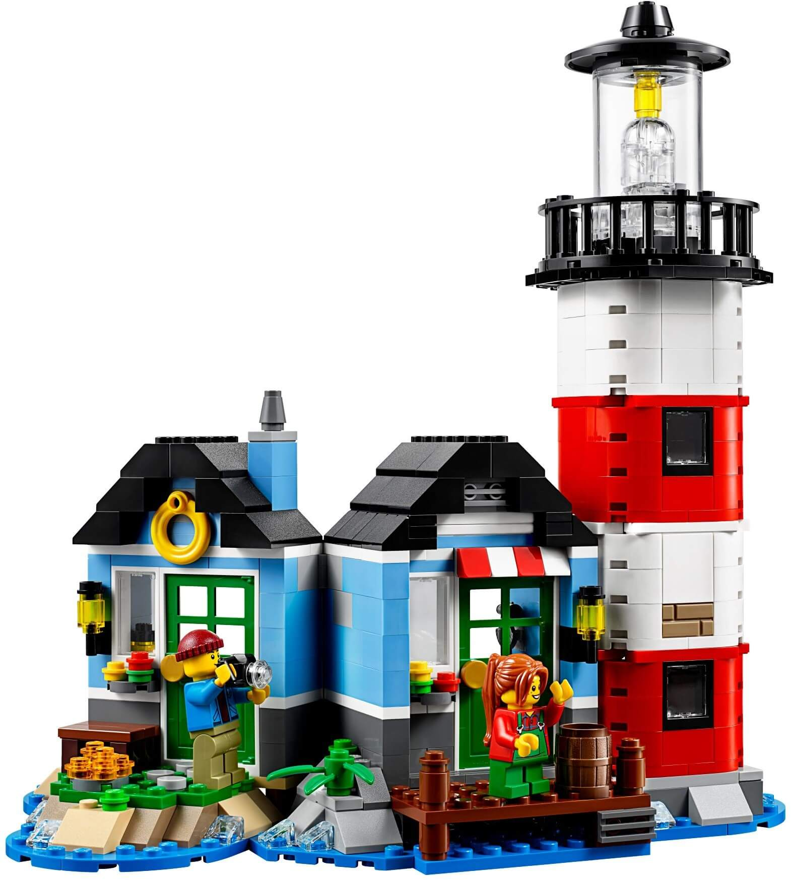 Mua đồ chơi LEGO 31051 - LEGO Creator 31051 - Xếp hình Ngọn Hải Đăng và Bến Tàu 3-trong-1 (LEGO Creator Lighthouse Point 31051)