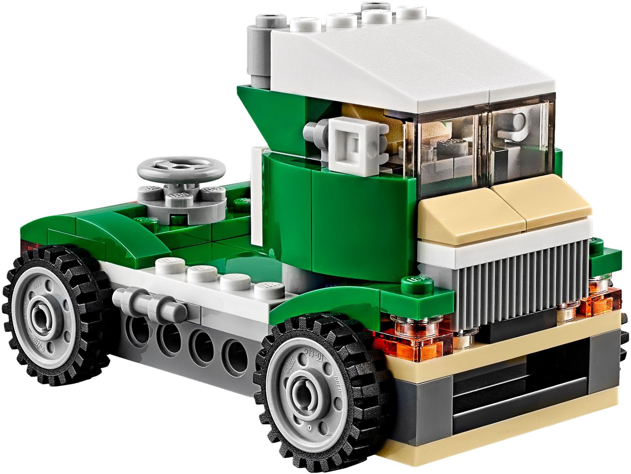 Mua đồ chơi LEGO 31056 - LEGO Creator 31056 - Mô hình Xe Đua - Xe Tải - Thuyền Đua 3-trong-1 (LEGO Creator Green Cruiser 31056)