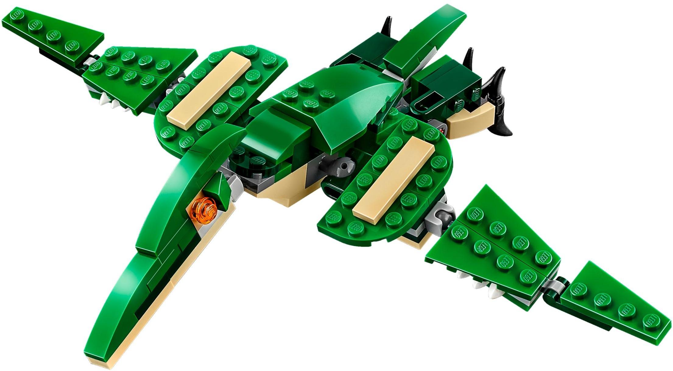 Mua đồ chơi LEGO 31058 - LEGO Creator 31058 - Mô Hình Khủng Long - Thằn Lằn Bay - Tê Giác 3-trong-1 (LEGO Creator Mighty Dinosaurs 31058)